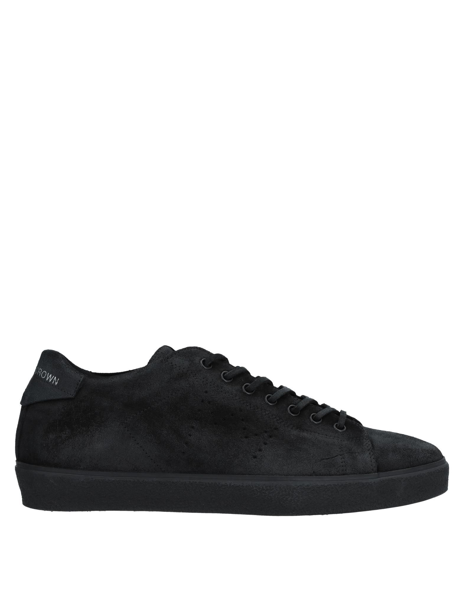 Sneakers Leather Leather Sneakers Crown Uomo - 11537171ON af0cb5