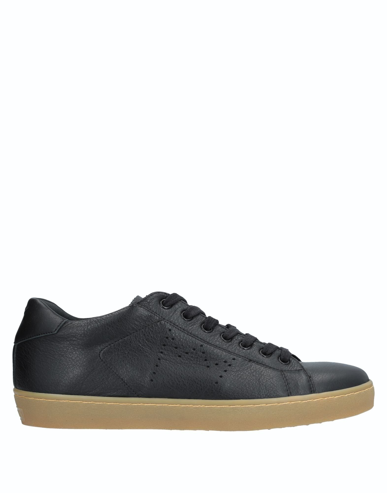 Sneakers Leather Crown Uomo - 11537234PV