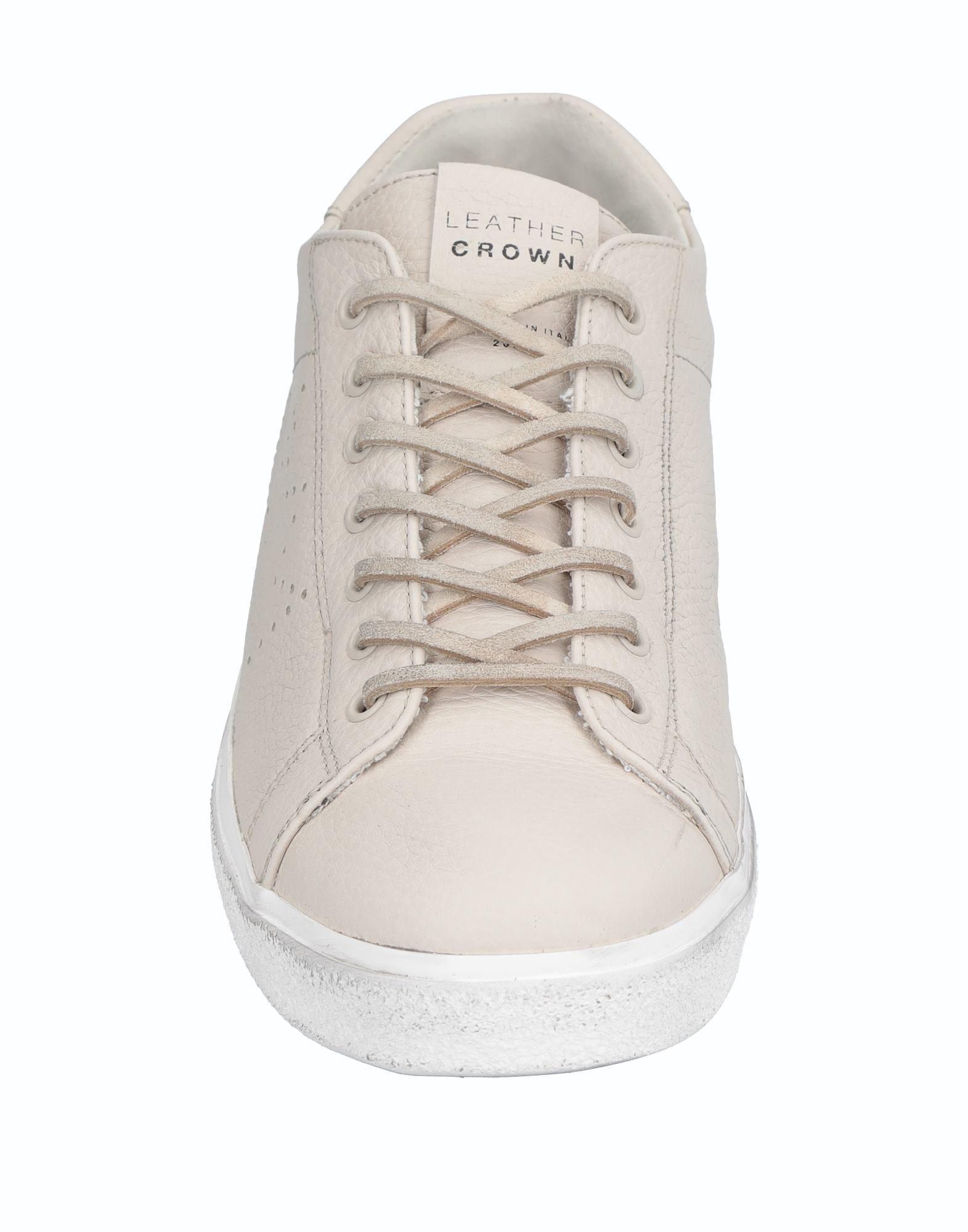 Leather Crown Crown Leather Sneakers Herren  11537253OC 47188f