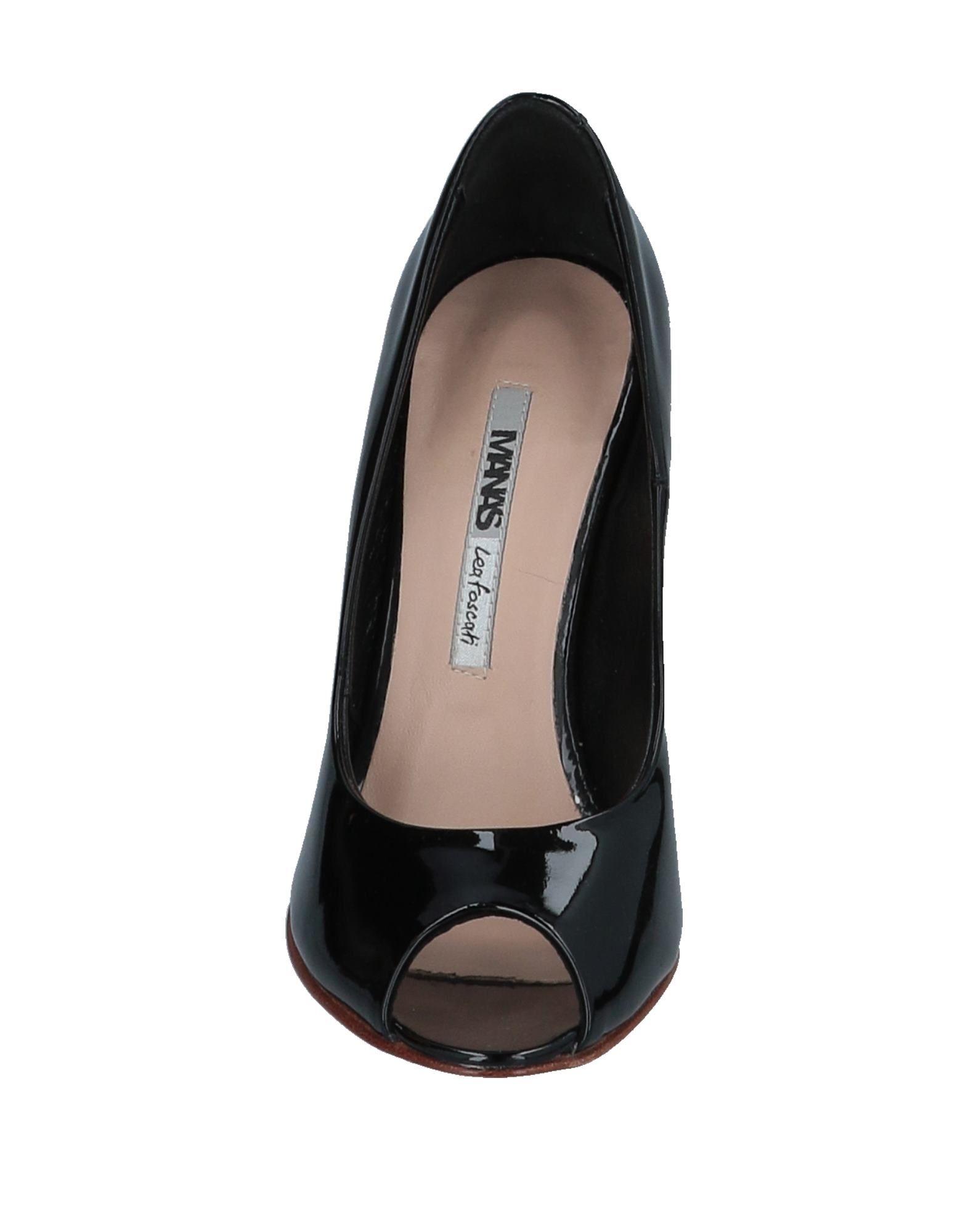 Manas Lea Gute Foscati Pumps Damen  11537628HS Gute Lea Qualität beliebte Schuhe d41db8