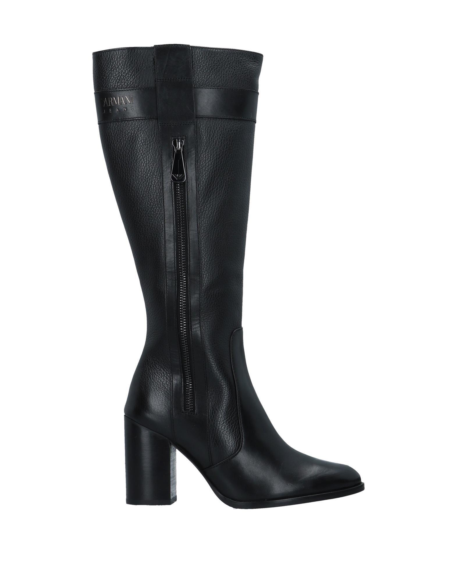 Armani Jeans Stiefel strapazierfähige Damen  11538236HJGut aussehende strapazierfähige Stiefel Schuhe 0e9a3d