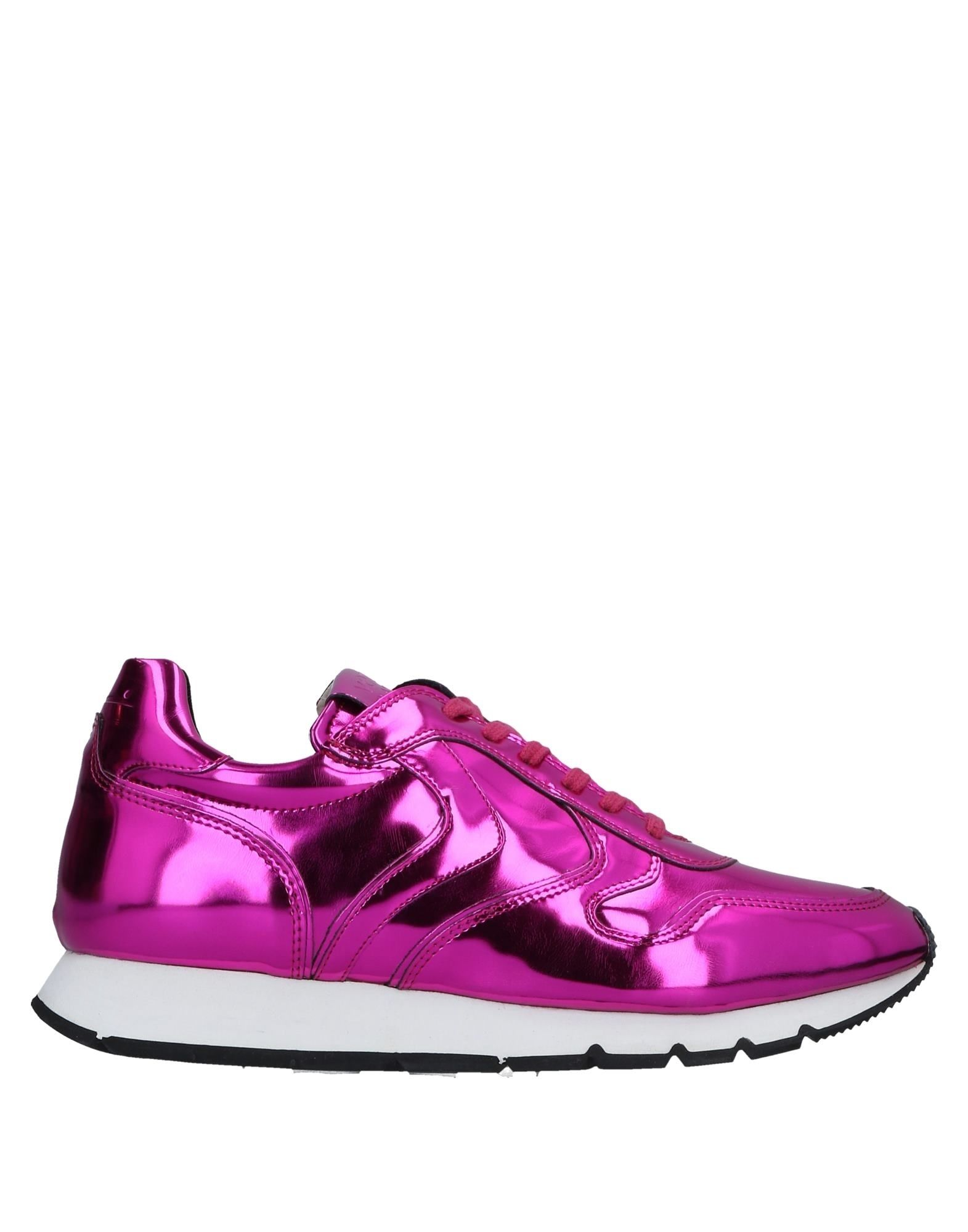 Baskets Voile Blanche Femme - Baskets Voile Blanche Fuchsia Chaussures casual sauvages