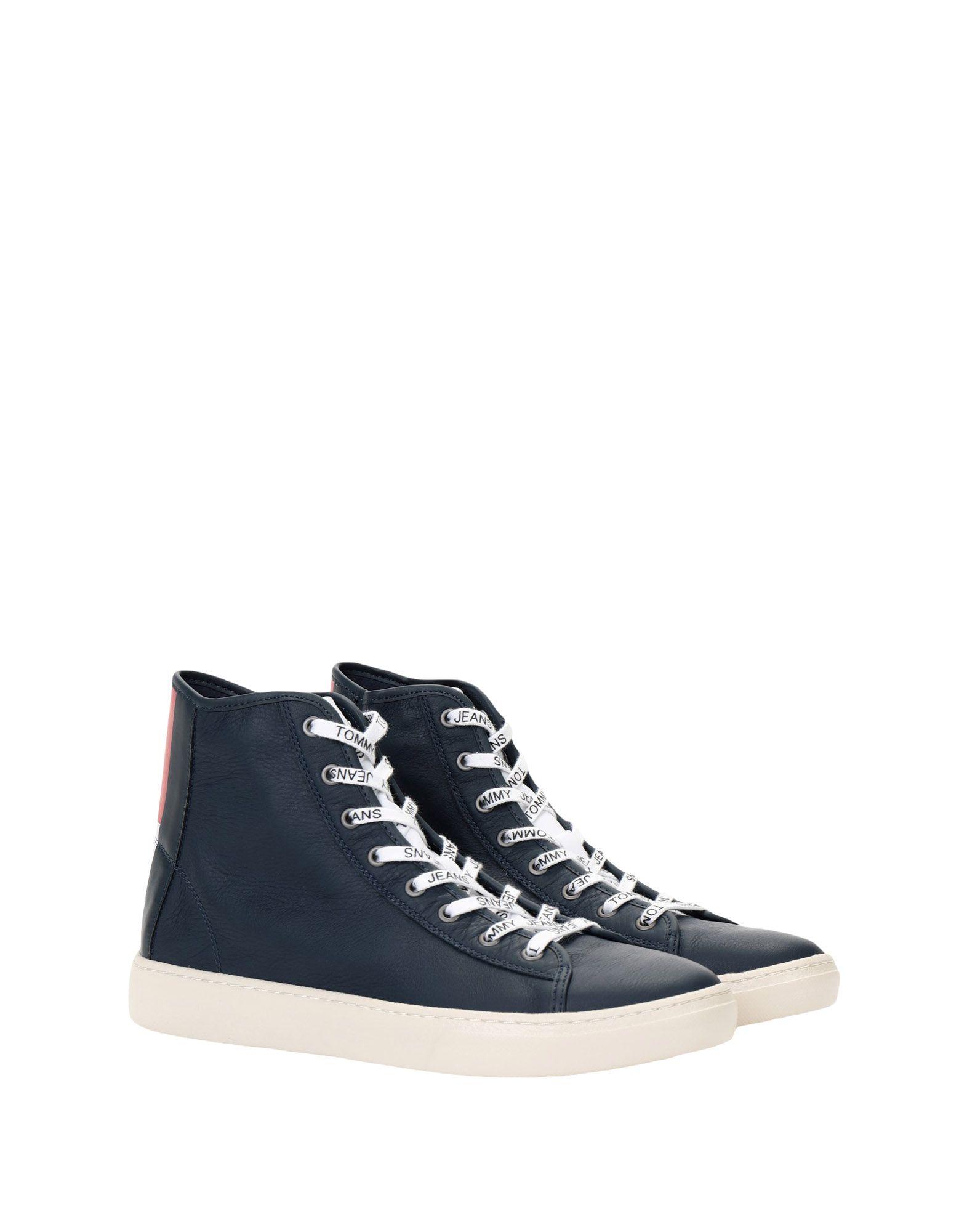 Rabatt echte Schuhe Mid Tommy Jeans Tommy J. Light Leather Mid Schuhe  11539259LL 7a7d5e