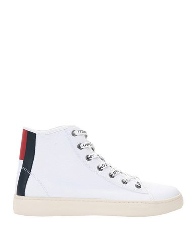 Zapatillas Light Tommy Jeans Tommy Jeans Light Zapatillas Leather Mid - Mujer - Zapatillas Tommy Jeans - 11539316GR Blanco b6099d