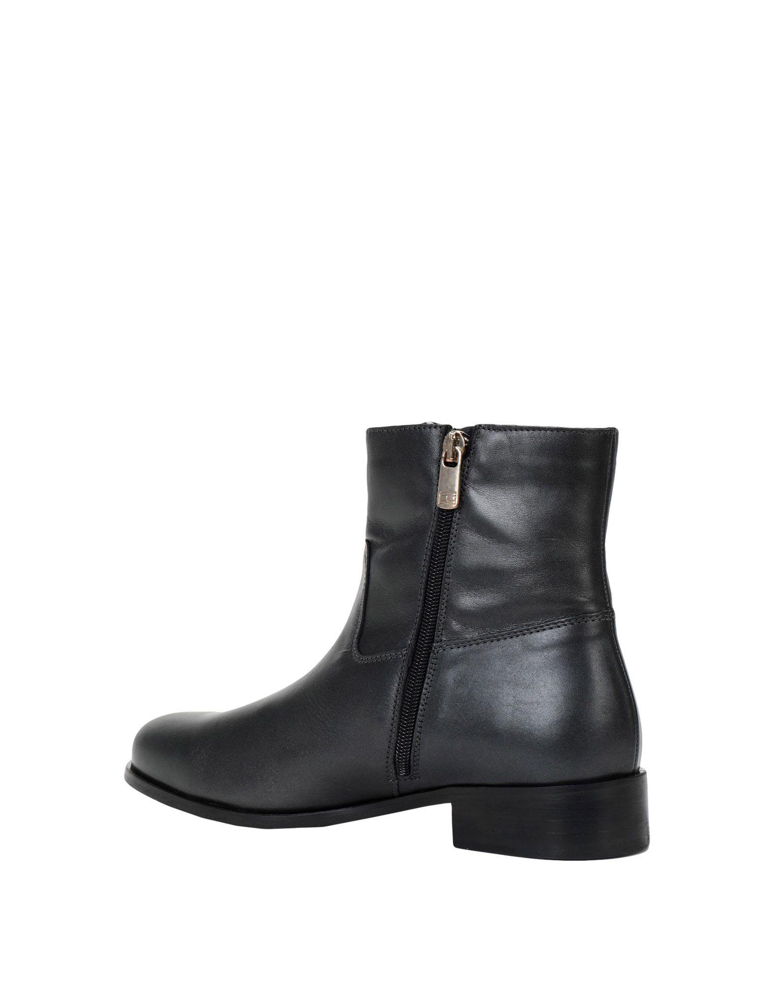 Stilvolle billige Schuhe Tommy Hilfiger  Chain Detail Flat Boot  Hilfiger 11539398HK 4a6767