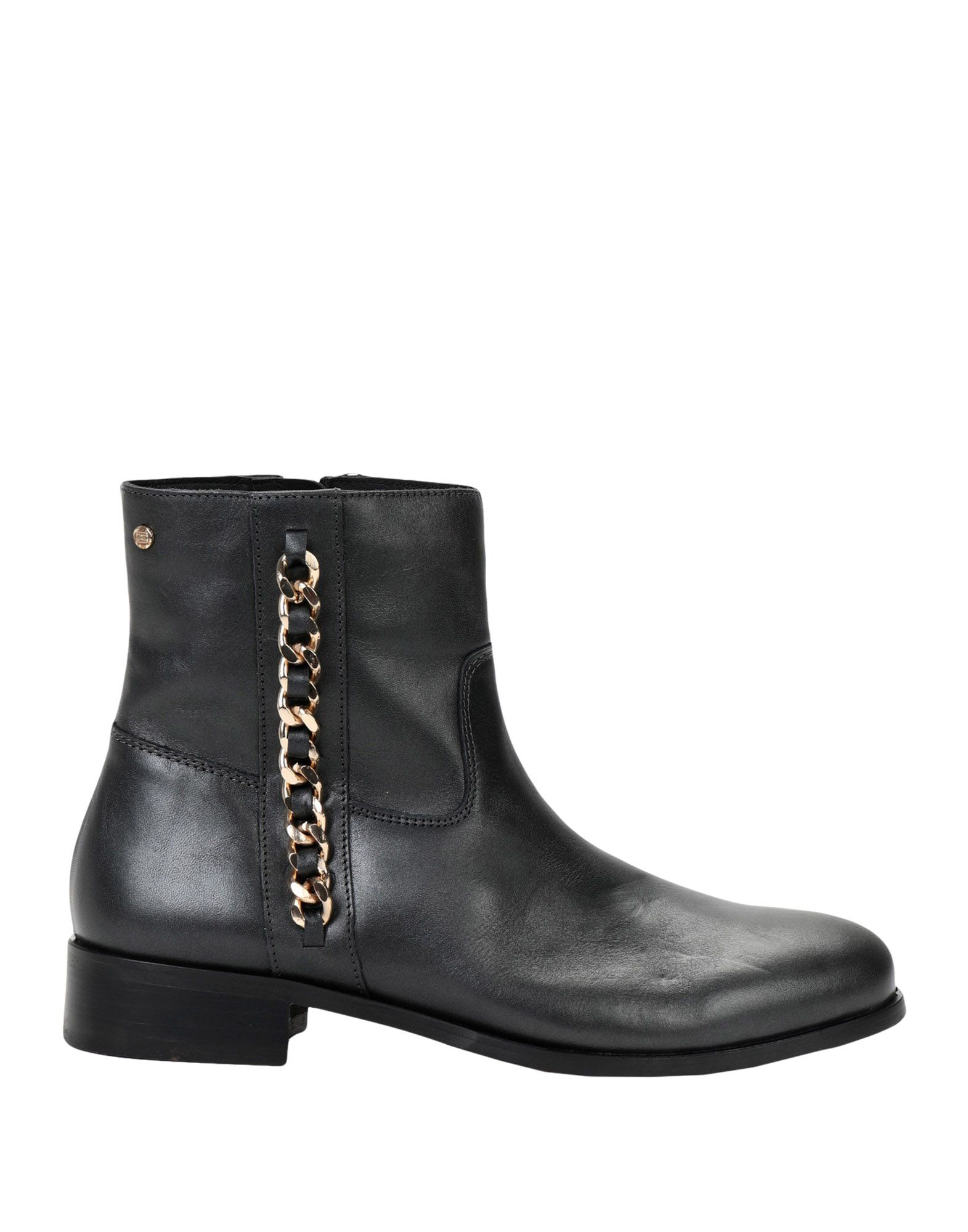 Stilvolle billige Schuhe Tommy Hilfiger Chain Detail Flat Boot  11539398HK