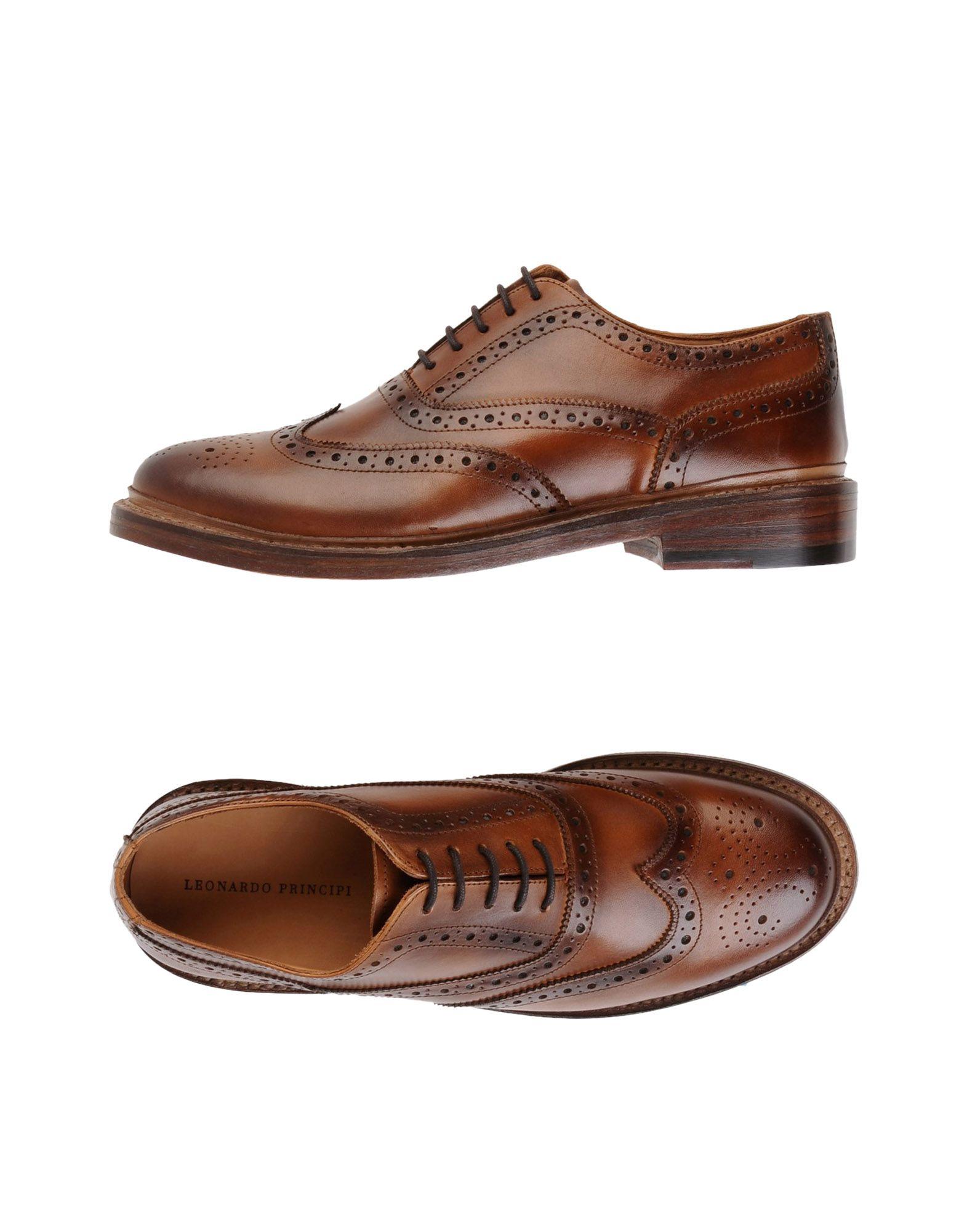 Leonardo Principi Schnürschuhe Herren  11539582RJ Gute Gute Gute Qualität beliebte Schuhe 9074fa