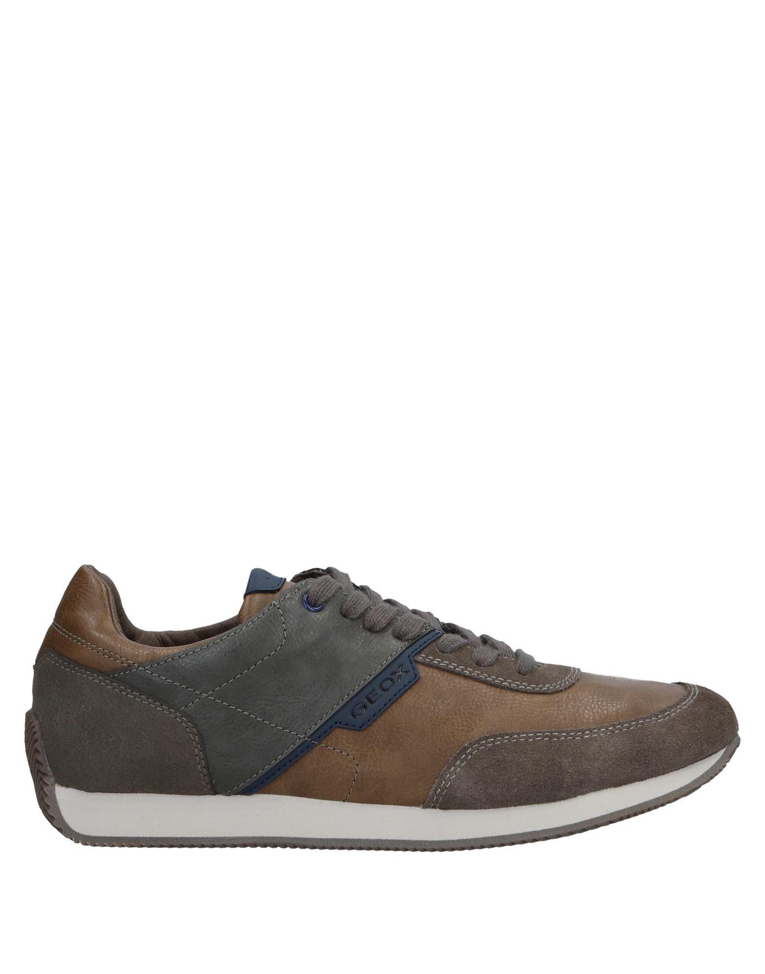 Sneakers Geox Homme - Sneakers Geox  Plomb Dédouanement saisonnier