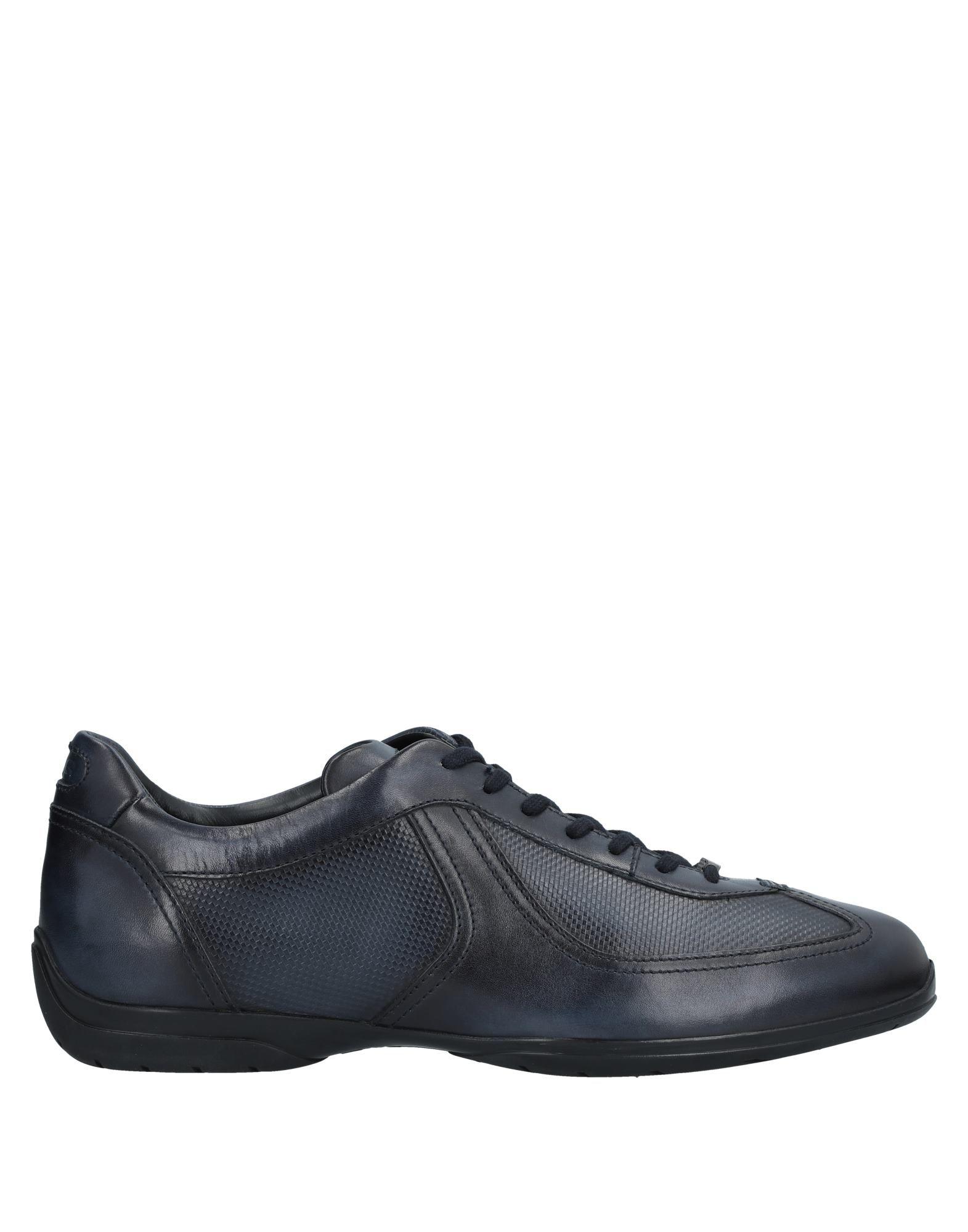 Sneakers Santoni Homme - Sneakers Santoni  Bleu foncé Spécial temps limité