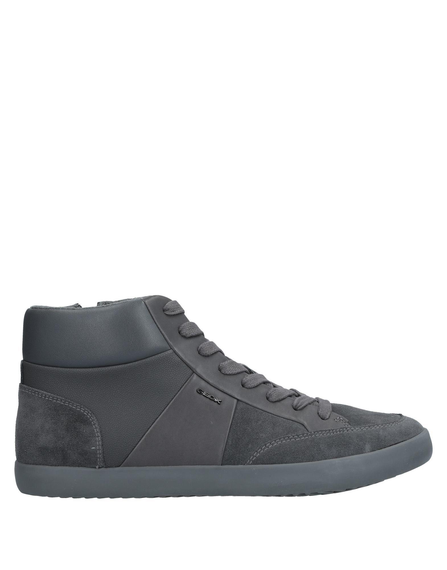 Sneakers Geox Homme - Sneakers Geox  Plomb Remise de marque