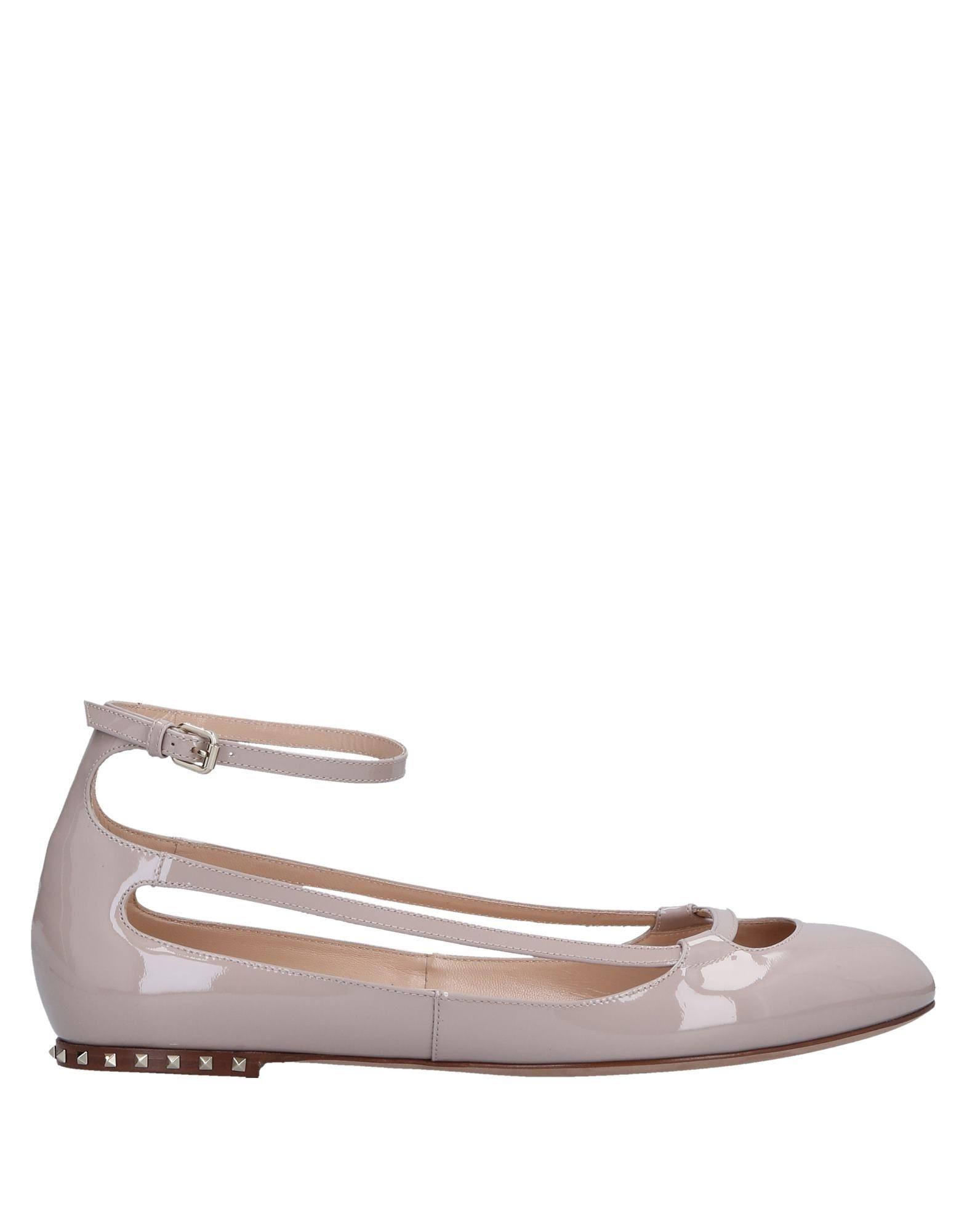 Valentino Garavani Ballet Flats - Women Valentino Garavani  Ballet Flats online on  Garavani United Kingdom - 11540437JS b11181