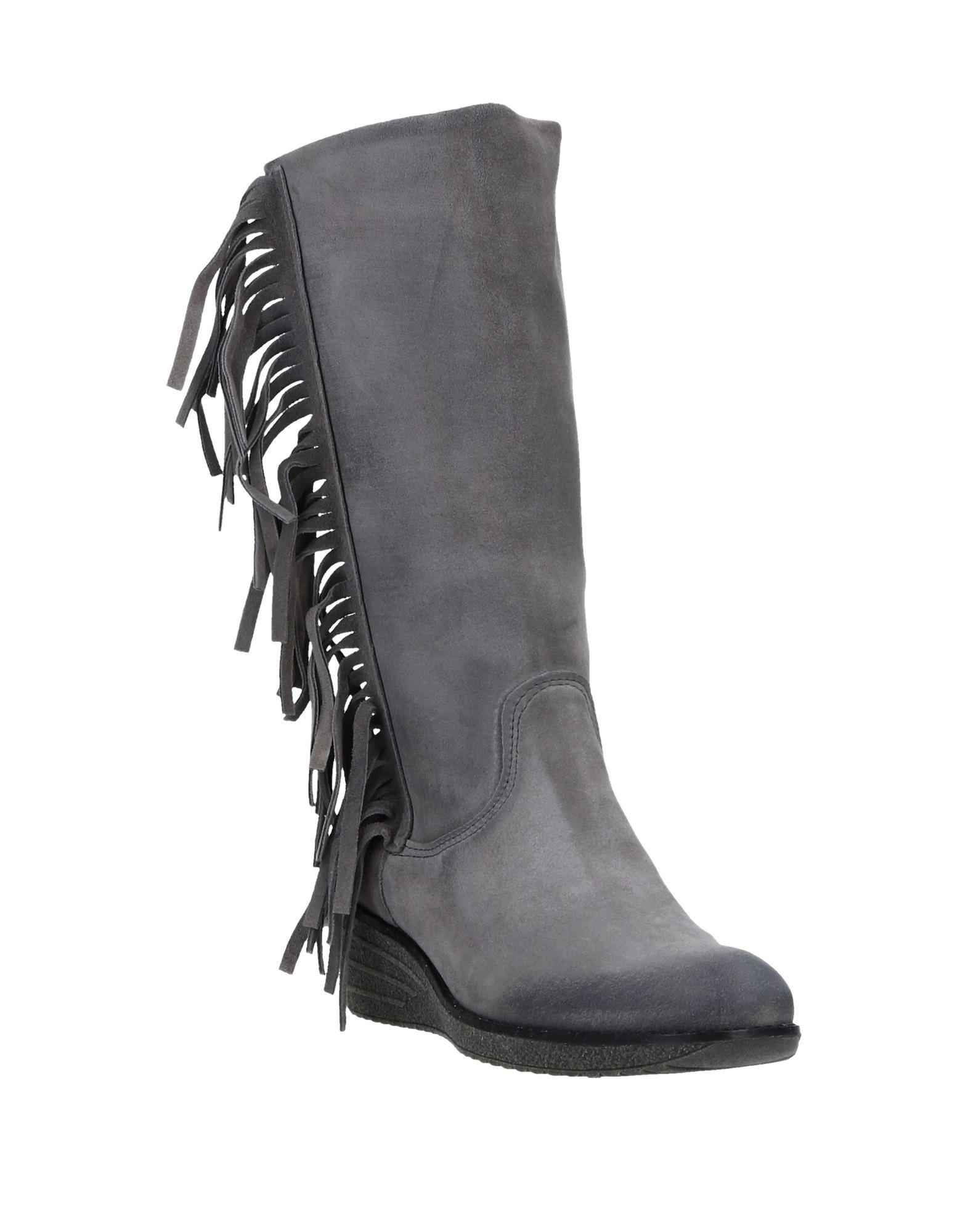 Stilvolle billige Schuhe Marina Grey Stiefel Stiefel Stiefel Damen  11540445QE 768299