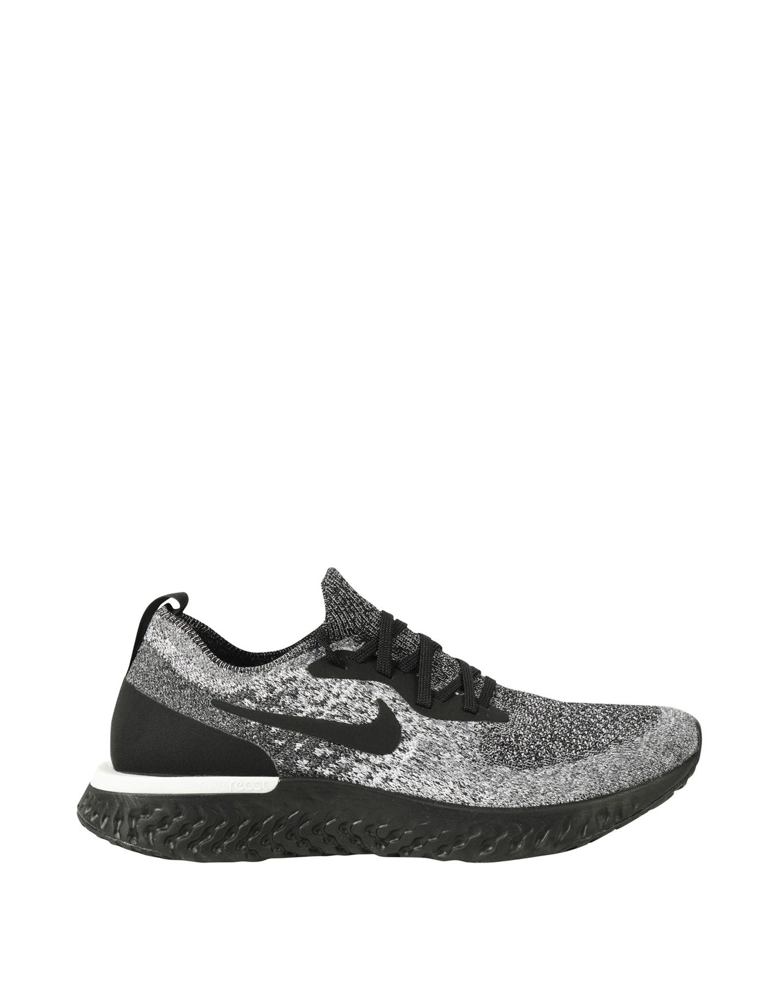 Baskets Nike  Epic React Flyknit - Femme - Baskets Nike Noir Nouvelles chaussures pour hommes et femmes, remise limitée dans le temps