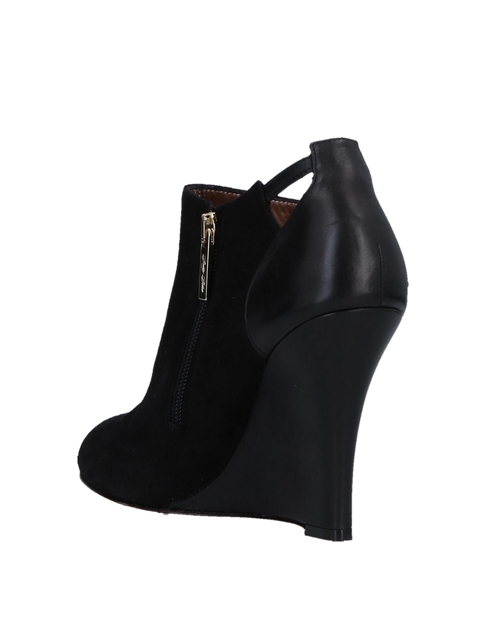 Stilvolle Stiefelette billige Schuhe Betty Blau Stiefelette Stilvolle Damen  11541316GO 9f3e2e