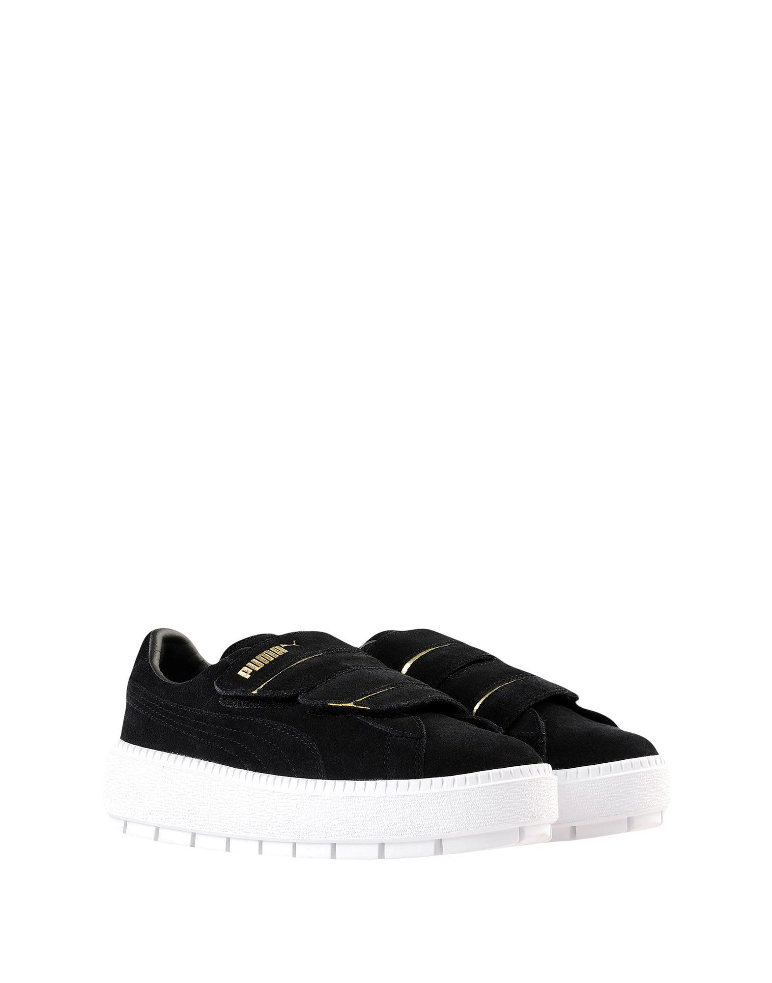Gut um billige Trace Schuhe zu tragenPuma Platform Trace billige Strap Wn's  11541320OU 69434b