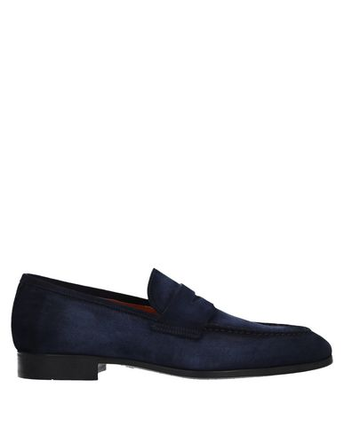 Zapatos con descuento Mocasín Santoni Hombre - Mocasines Santoni - 11541356EO Azul marino