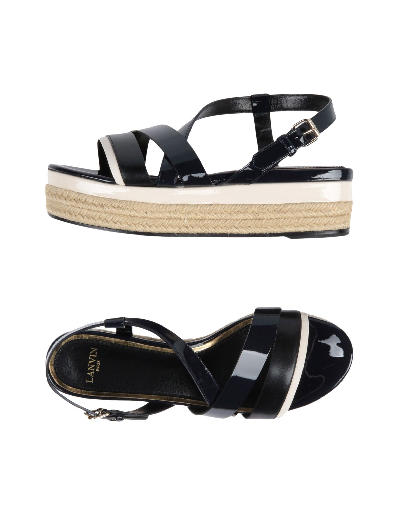 Lanvin gut Sandalen Damen  11541363NXGünstige gut Lanvin aussehende Schuhe e2e073