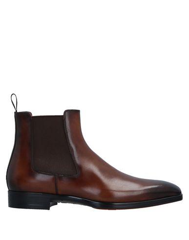 Zapatos con descuento Botín Santoni Hombre - Botines Santoni - 11541405RV Marrón