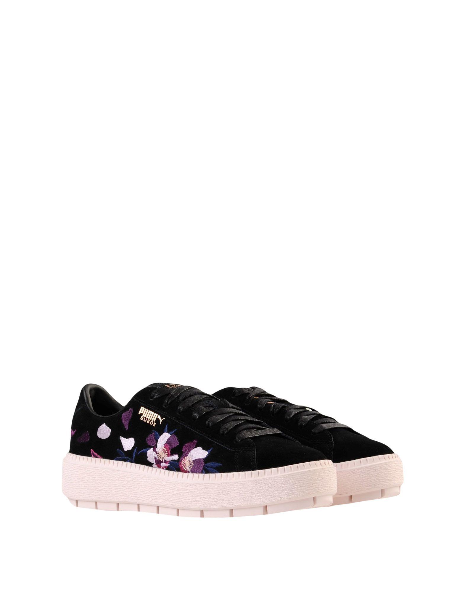 Gut um Suede billige Schuhe zu tragenPuma Suede um Platform Trace Flowery  11541458LF fcdb69