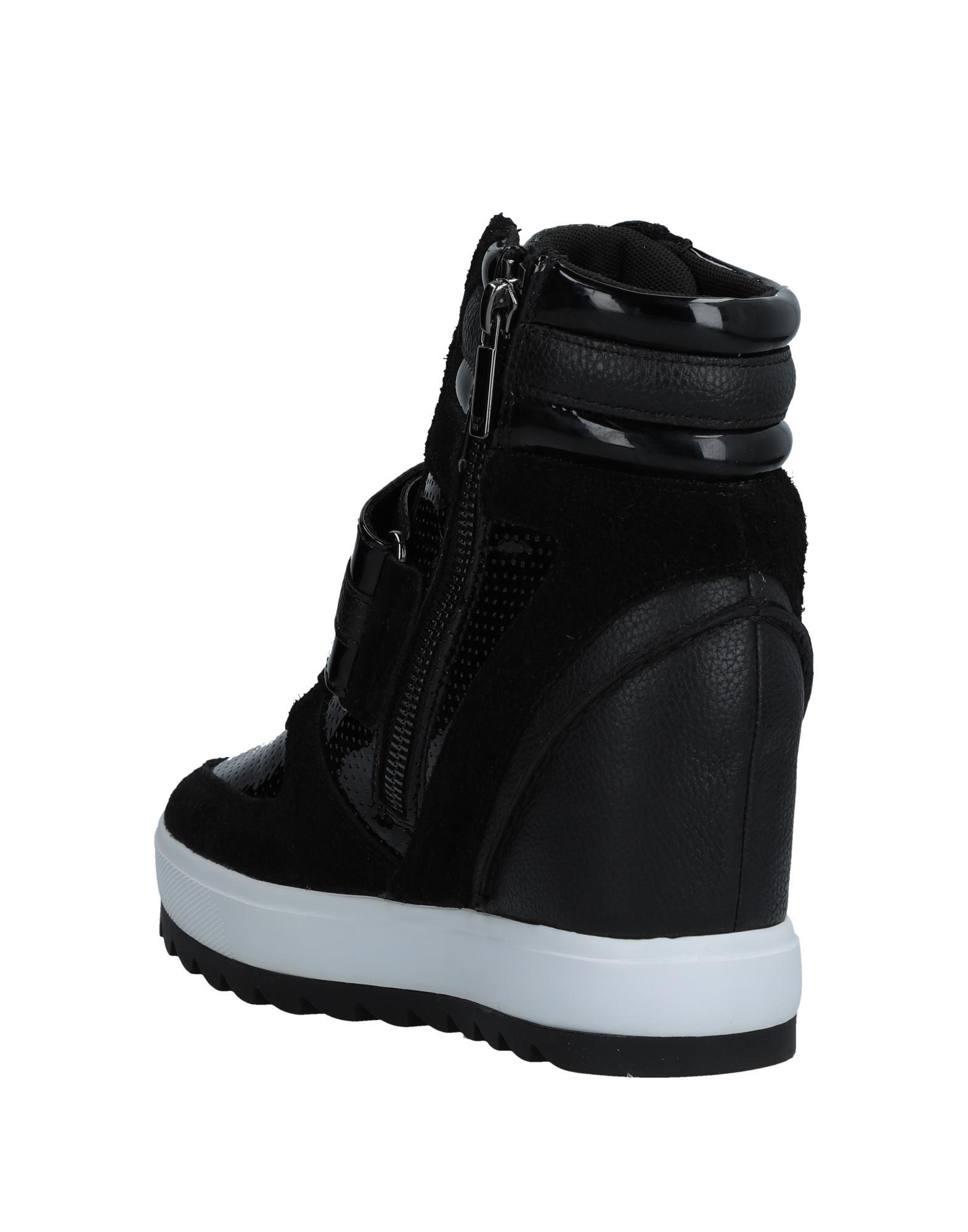 Armani Jeans aussehende Sneakers Damen  11541808WTGut aussehende Jeans strapazierfähige Schuhe 9da214