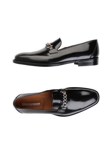 Zapatos de hombres y mujeres de moda casual Mocasín Leonardo Principi Hombre - Mocasines Leonardo Principi - 11541879GL Negro