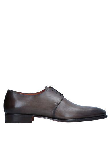 Zapatos con descuento Zapato De Cordones Santoni Hombre - Zapatos De Cordones Santoni - 11541952FV Caqui