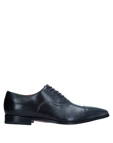 Zapatos con descuento Zapato De Zapatos Cordones Santoni Hombre - Zapatos De De Cordones Santoni - 11541973VQ Negro 7891c3