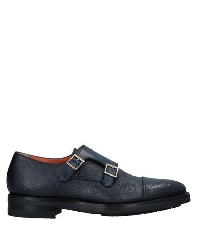 Zapatos con descuento Mocasín Santoni Hombre - Mocasines Santoni - 11542169OR Azul oscuro