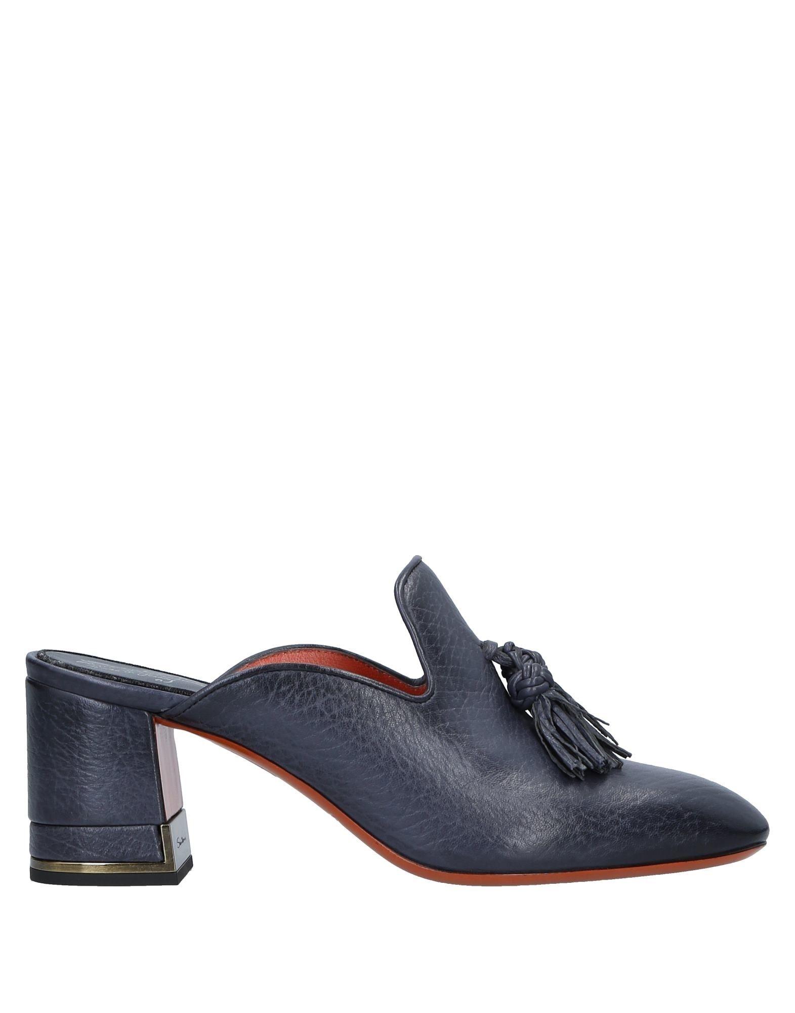 Santoni Pantoletten Damen  11542287WNGünstige gut aussehende Schuhe