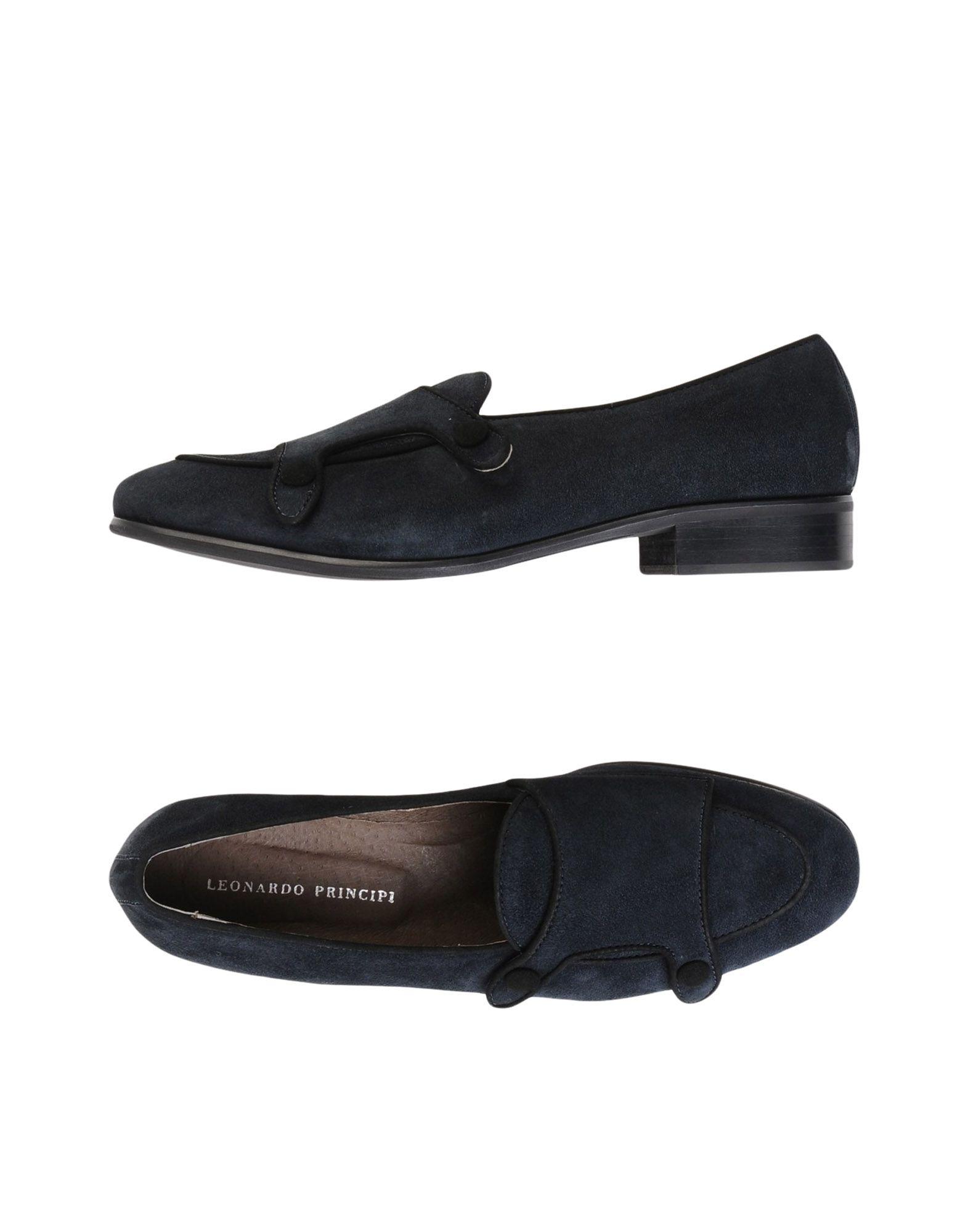Stilvolle billige Schuhe Leonardo Principi Mokassins Damen  11542296UO