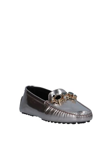 Tod's Mocassins Mocassins Argent Argent Tod's Mocassins Tod's axqwzEp0