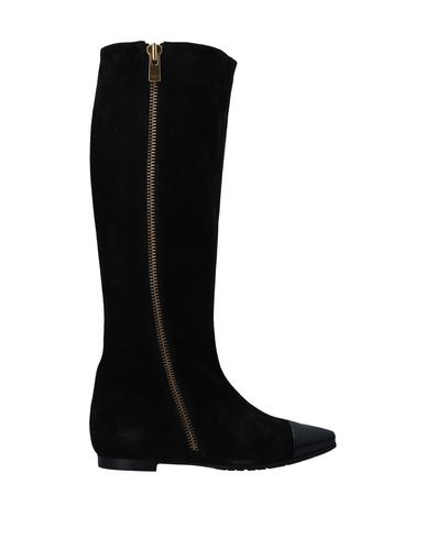 PETER FLOWERS Boots in Black
