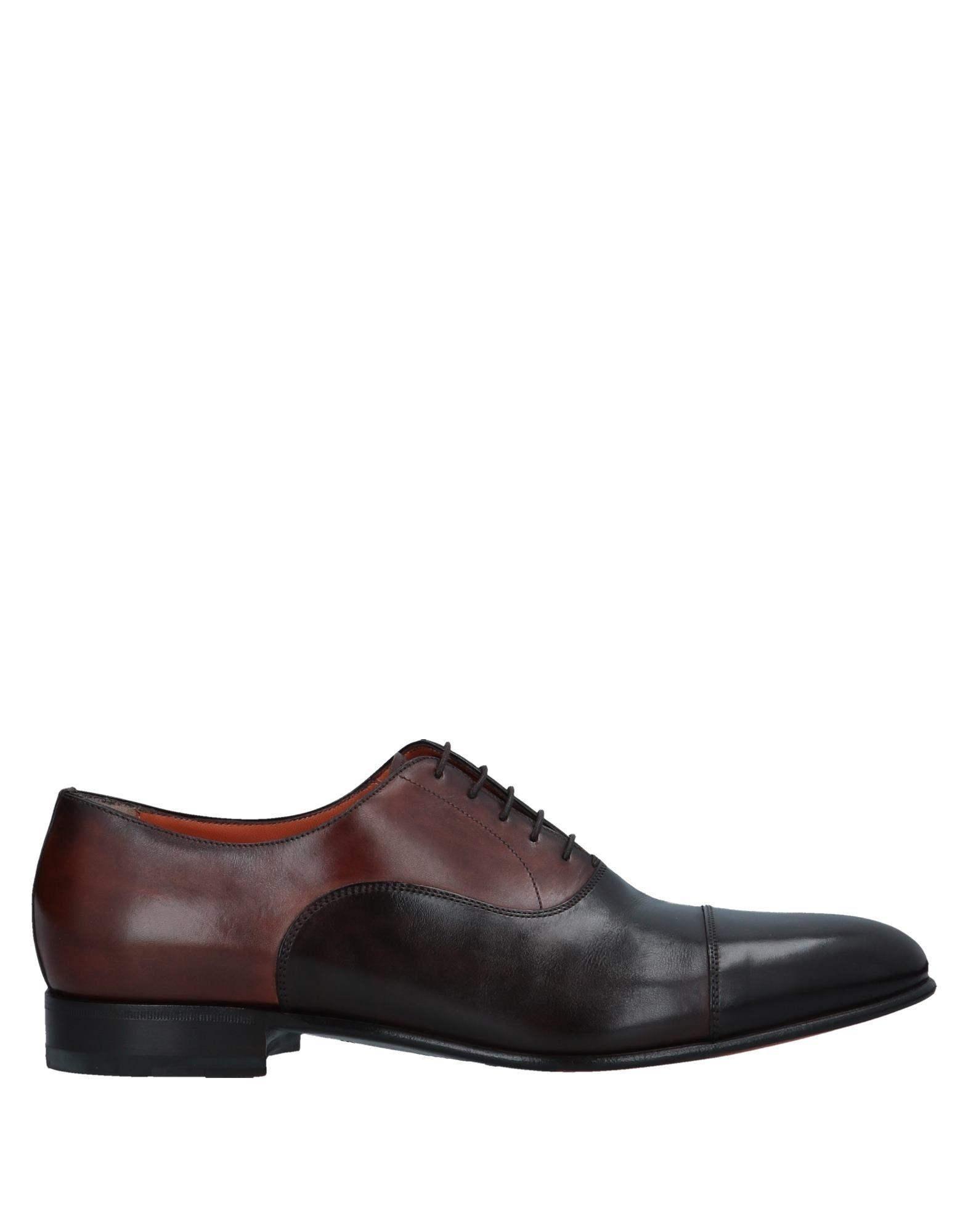 Tiempo limitado especial Zapato Santoni De Cordones Cordones Santoni Zapato Hombre a95ec2