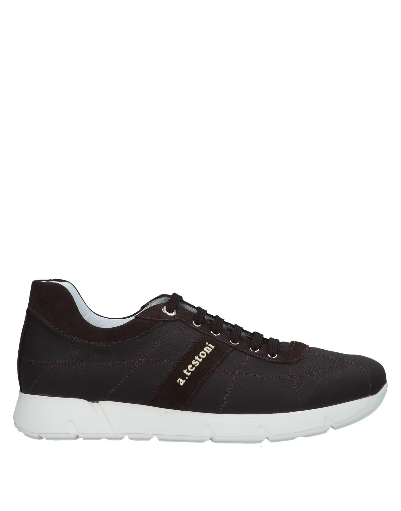 Günstige und modische Schuhe A.Testoni Sneakers Herren  11543669NM