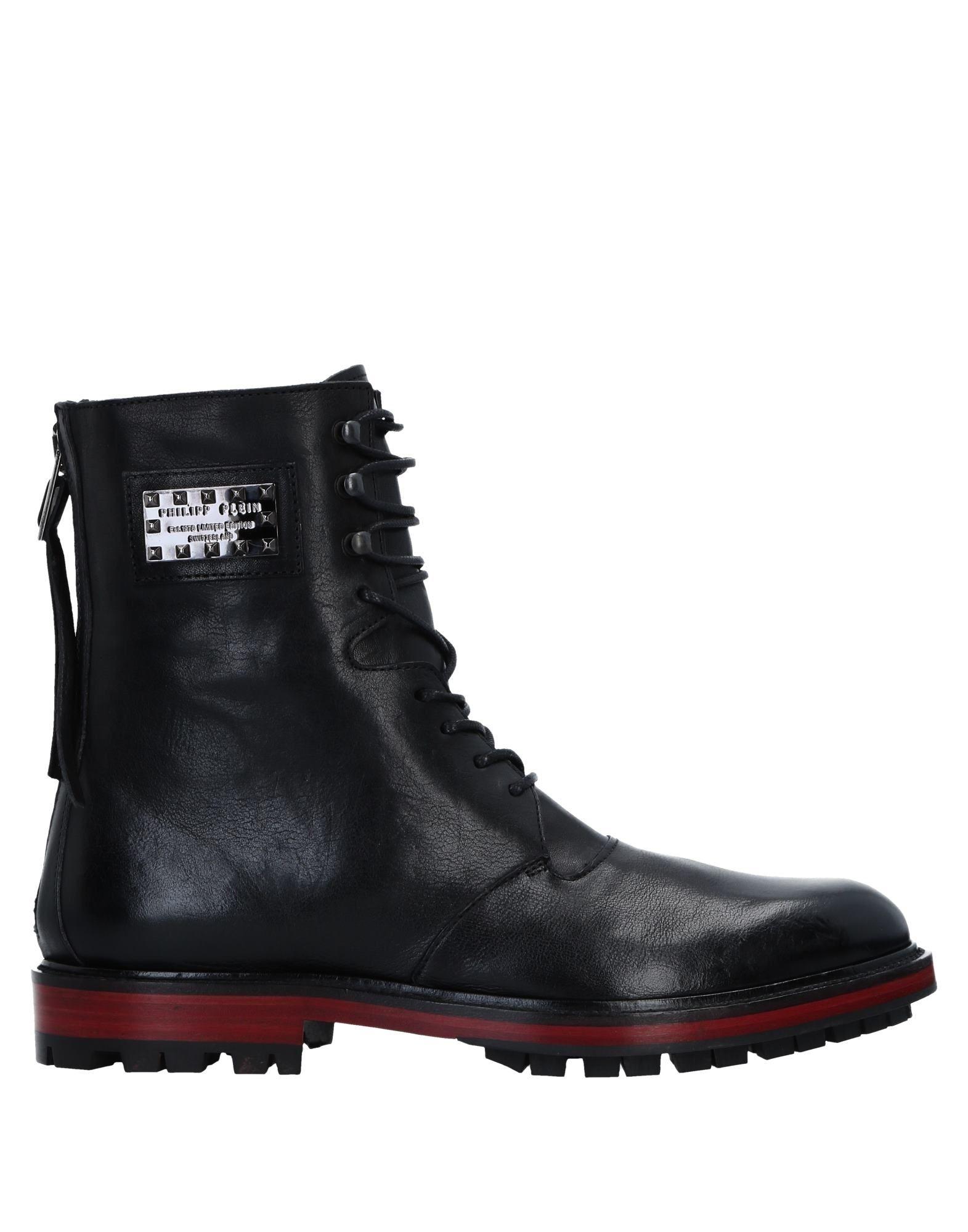 Philipp Plein Stiefelette Herren  11544093MJ Gute Qualität beliebte Schuhe