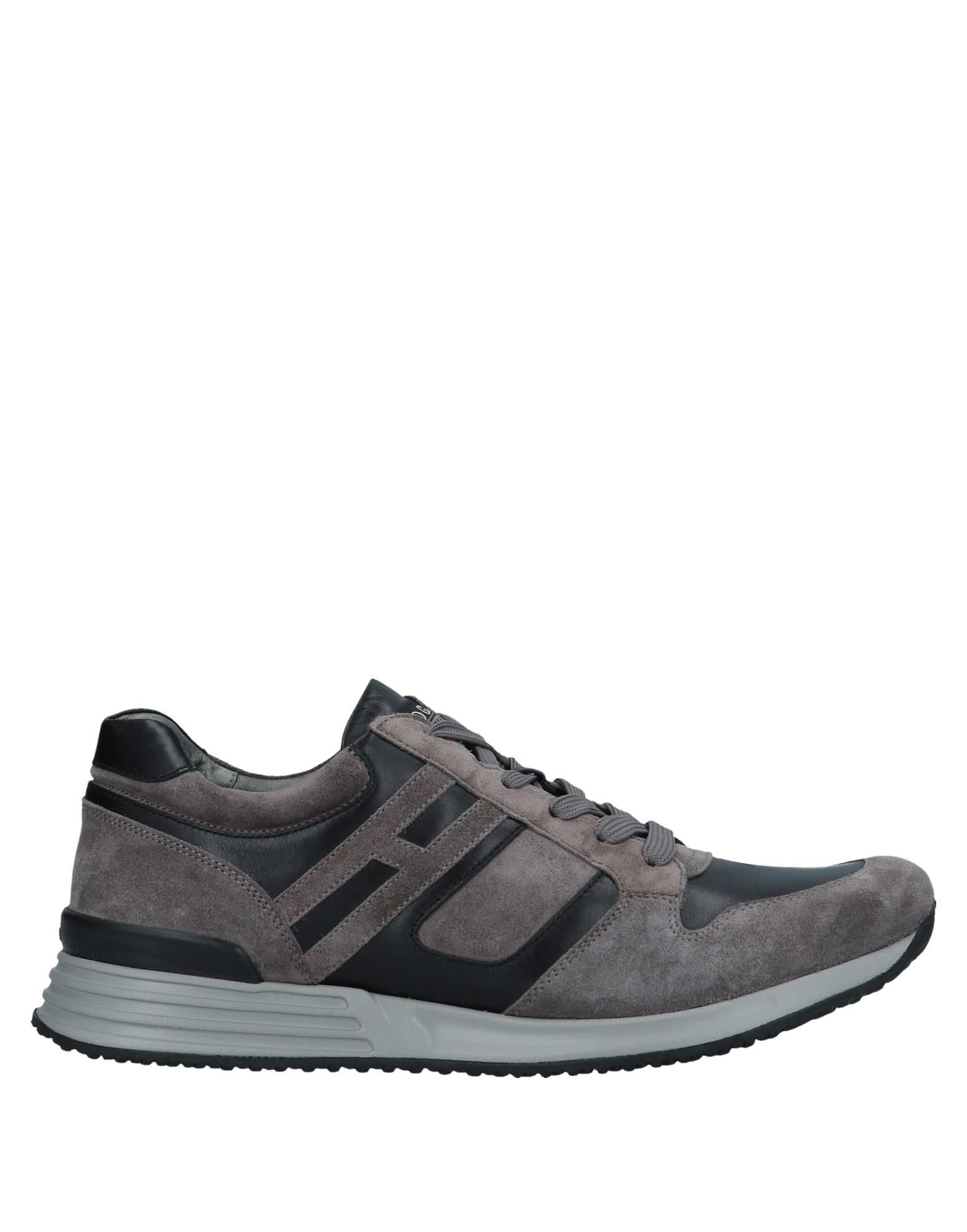 Sneakers Hogan Rebel Homme - Sneakers Hogan Rebel  Gris Super rabais