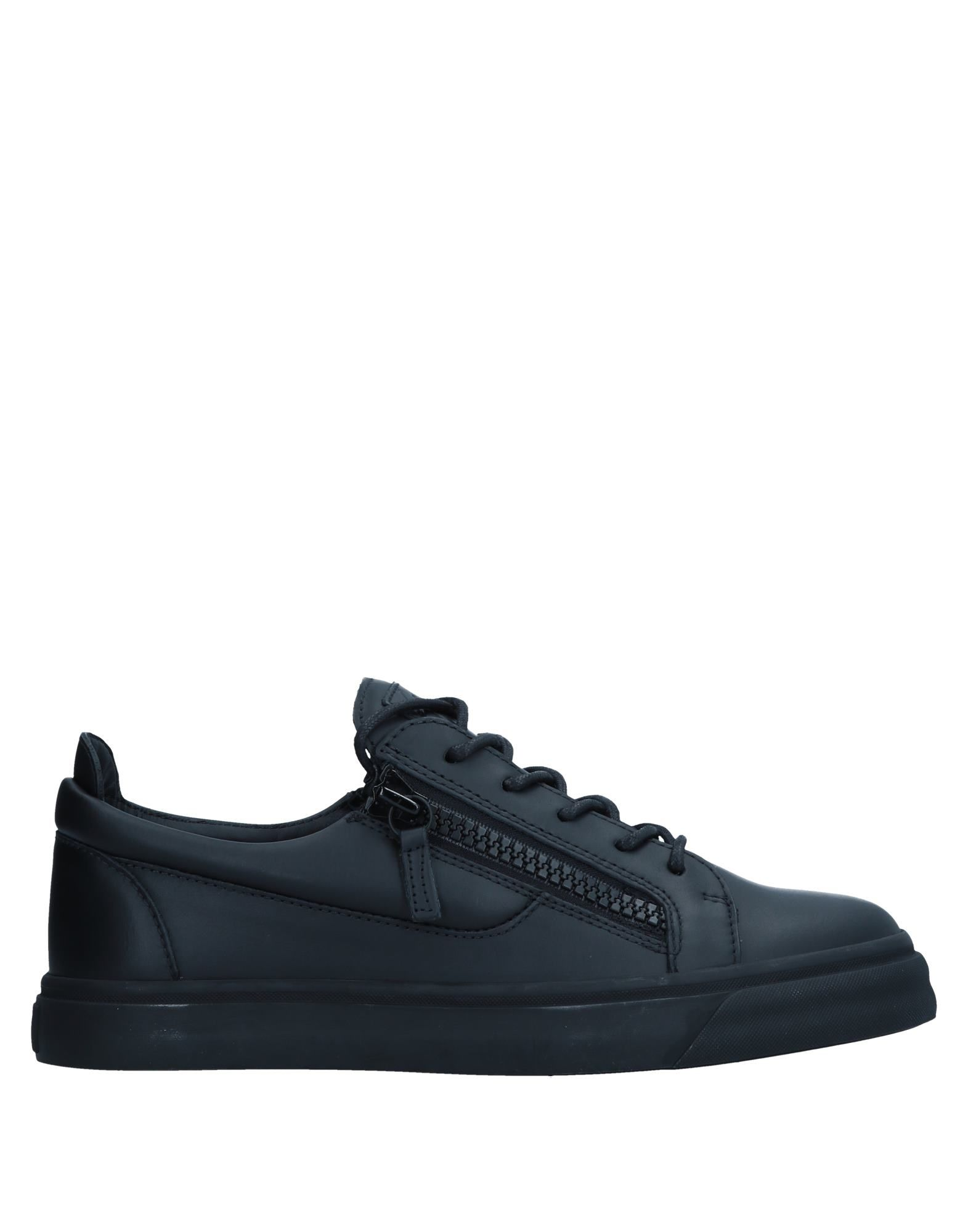 Sneakers Giuseppe Zanotti Homme - Sneakers Giuseppe Zanotti  Noir Chaussures casual sauvages