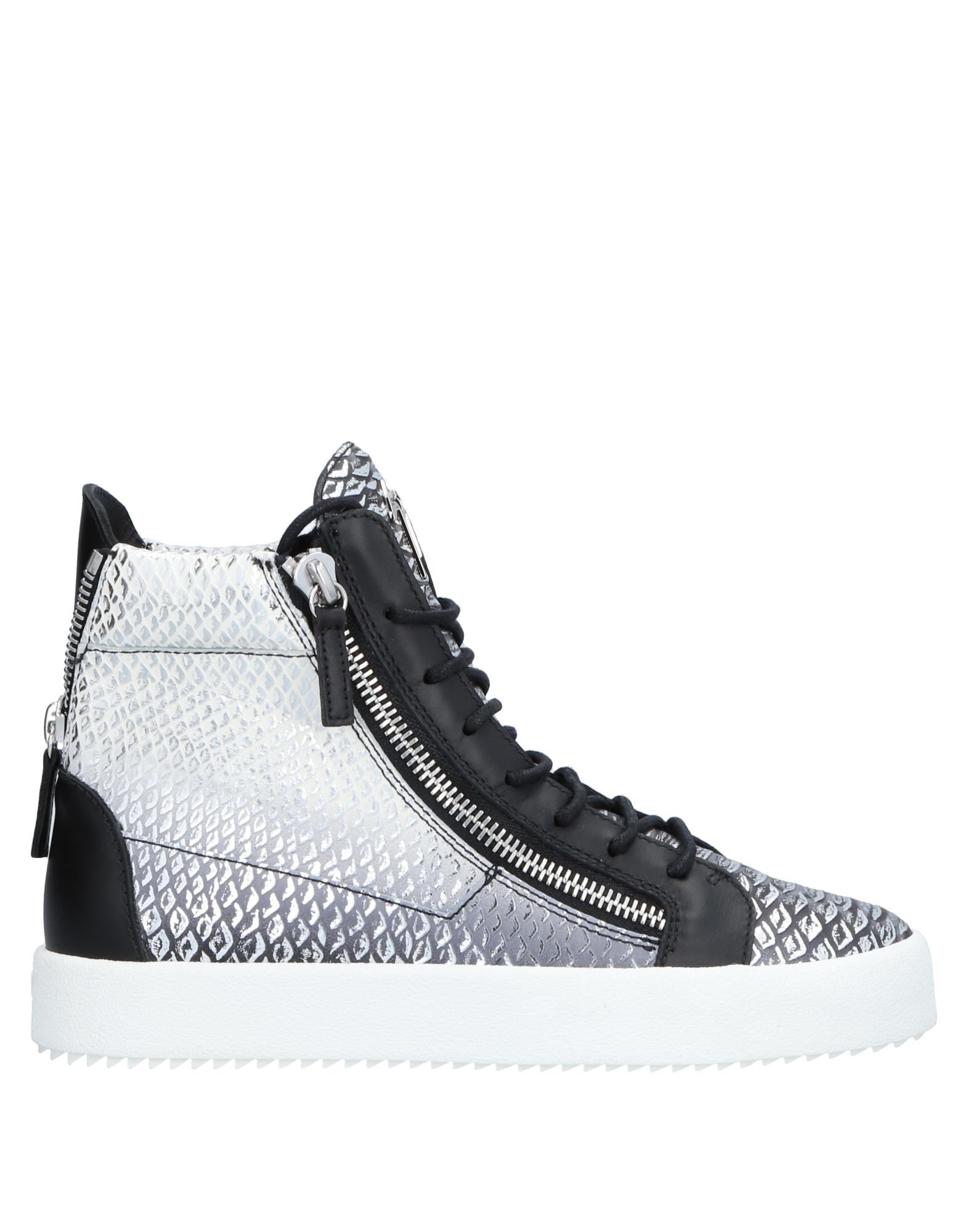 Sneakers Giuseppe Zanotti Homme - Sneakers Giuseppe Zanotti  Argent Chaussures casual sauvages