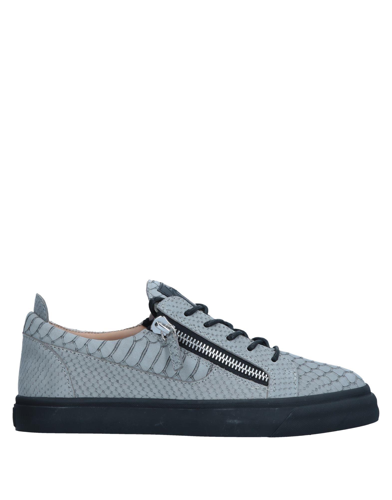 Sneakers Giuseppe Zanotti Homme - Sneakers Giuseppe Zanotti  Gris Spécial temps limité