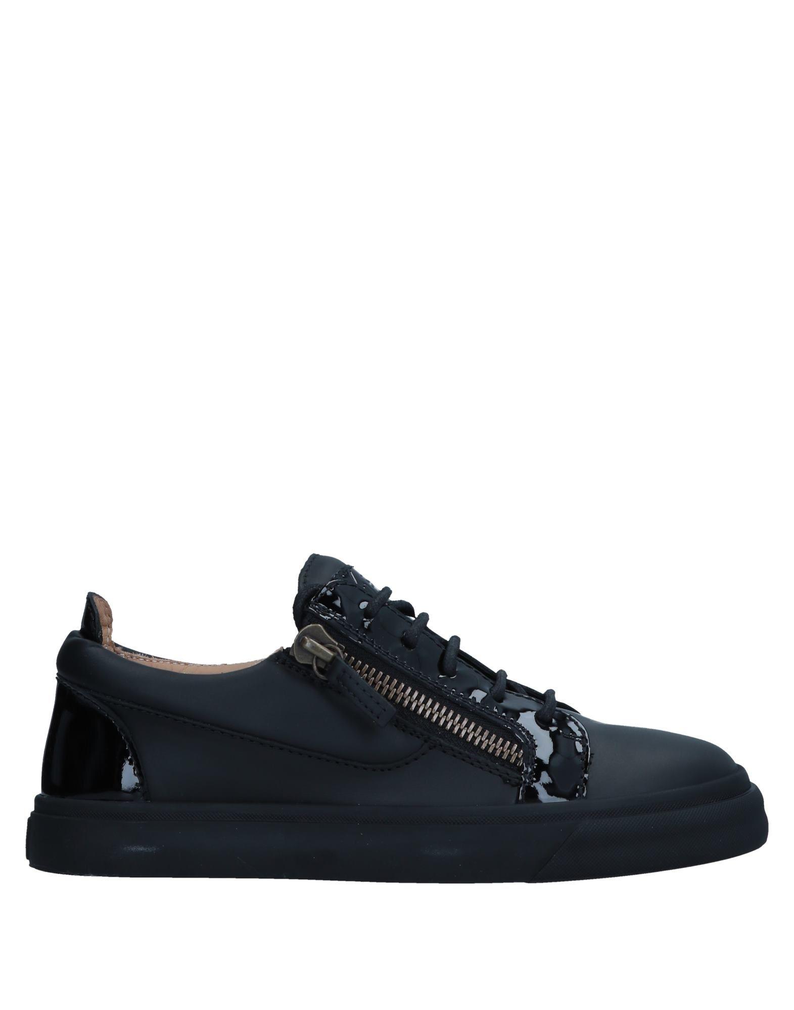 Zapatos Mujer casuales salvajes Zapatillas Giuseppe Zanotti Mujer Zapatos - Zapatillas Giuseppe Zanotti  Negro 59cf54