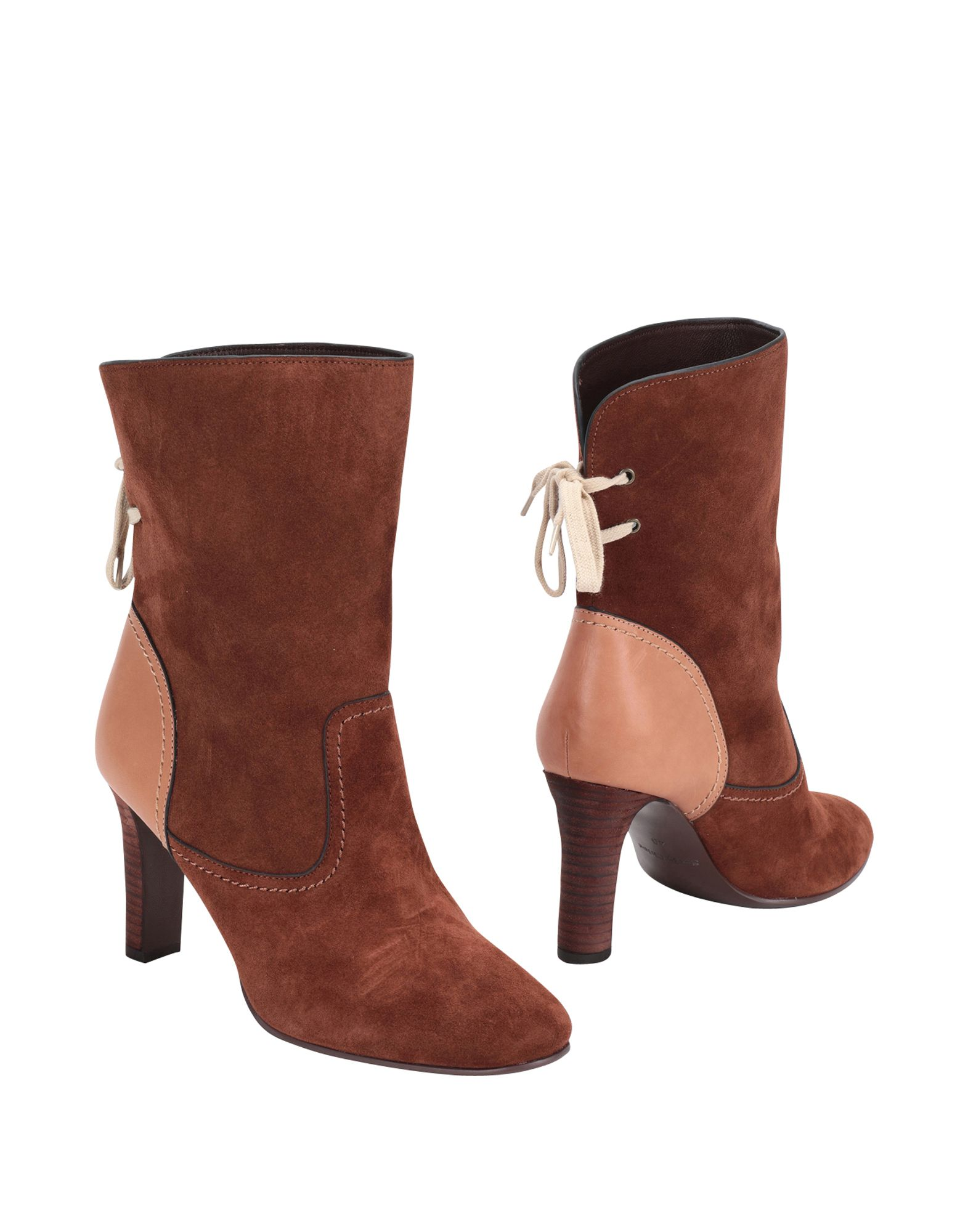 Bottine See By Chloé Femme - Bottines See By Chloé Chocolat Remise de marque