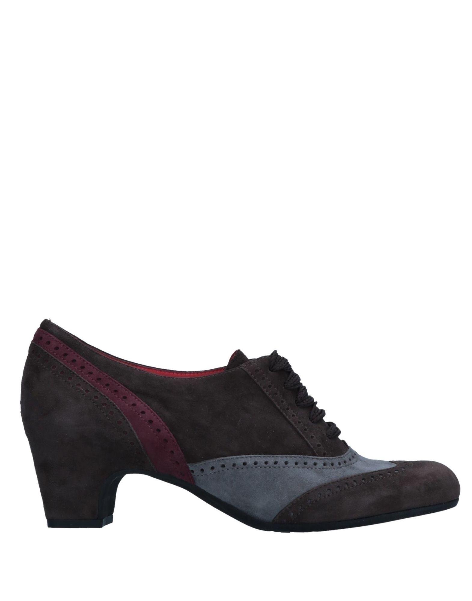 Stilvolle billige Schuhe Pas De Rouge Schnürschuhe Damen  11546683IR