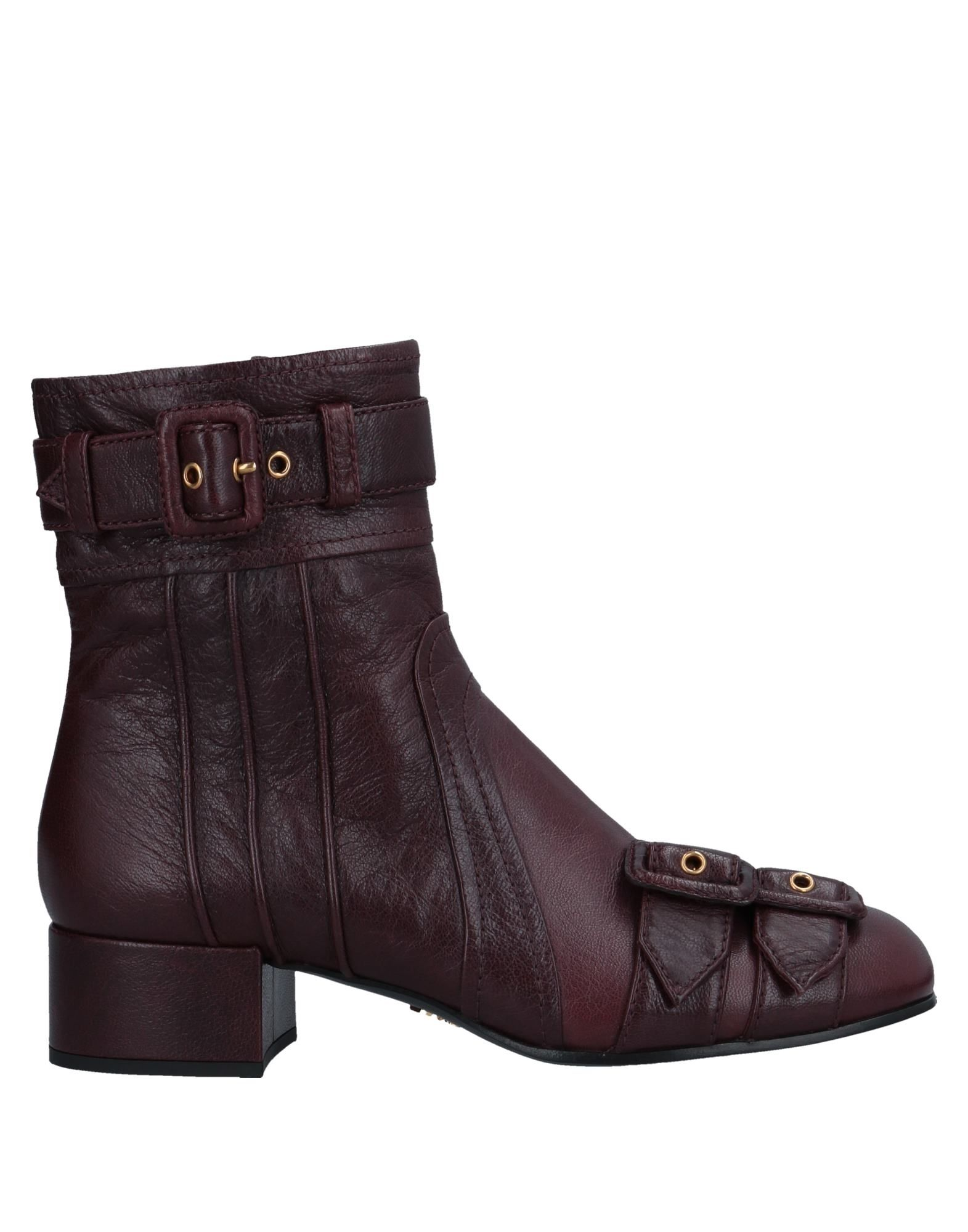 Prada Ankle Boot - Women Prada  Ankle Boots online on  Prada United Kingdom - 11547254OP 976cc6
