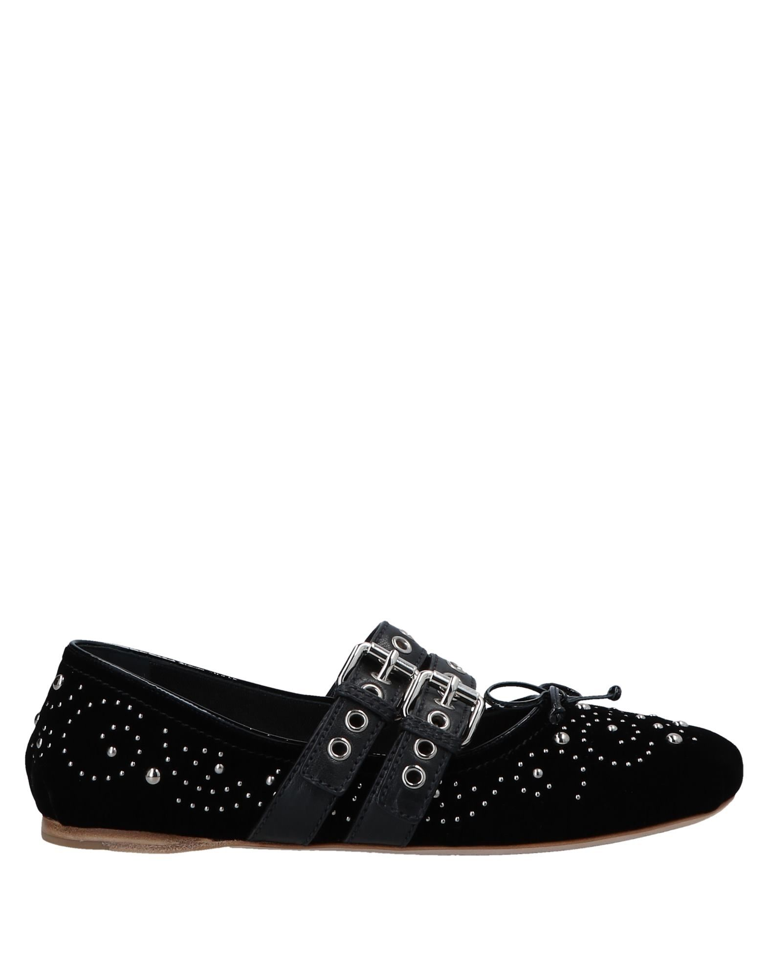Miu Miu Ballerinas aussehende Damen  11547511WXGünstige gut aussehende Ballerinas Schuhe 0709c9