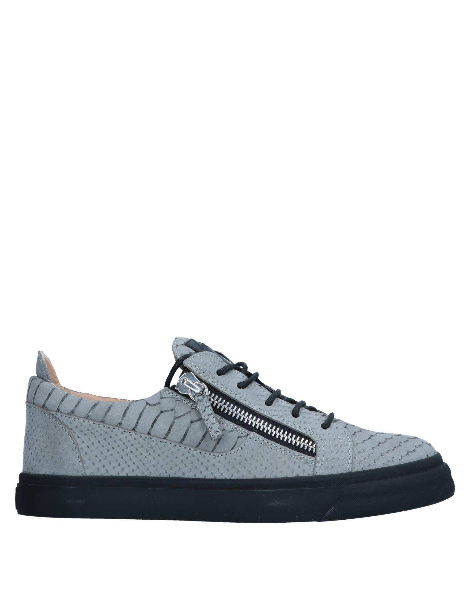 Sneakers Giuseppe Zanotti Homme - Sneakers Giuseppe Zanotti  Gris Confortable et belle