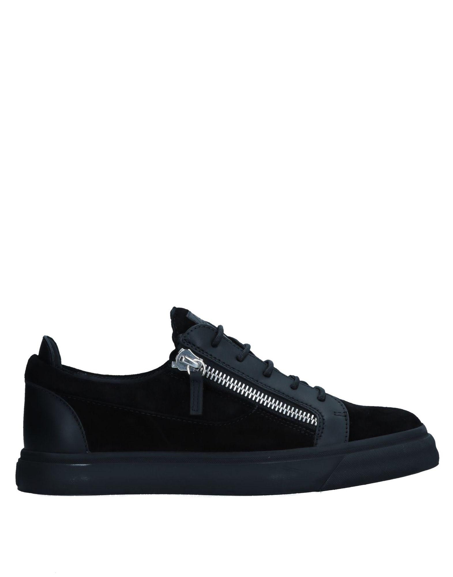 Sneakers Giuseppe Zanotti Homme - Sneakers Giuseppe Zanotti  Noir Chaussures femme pas cher homme et femme