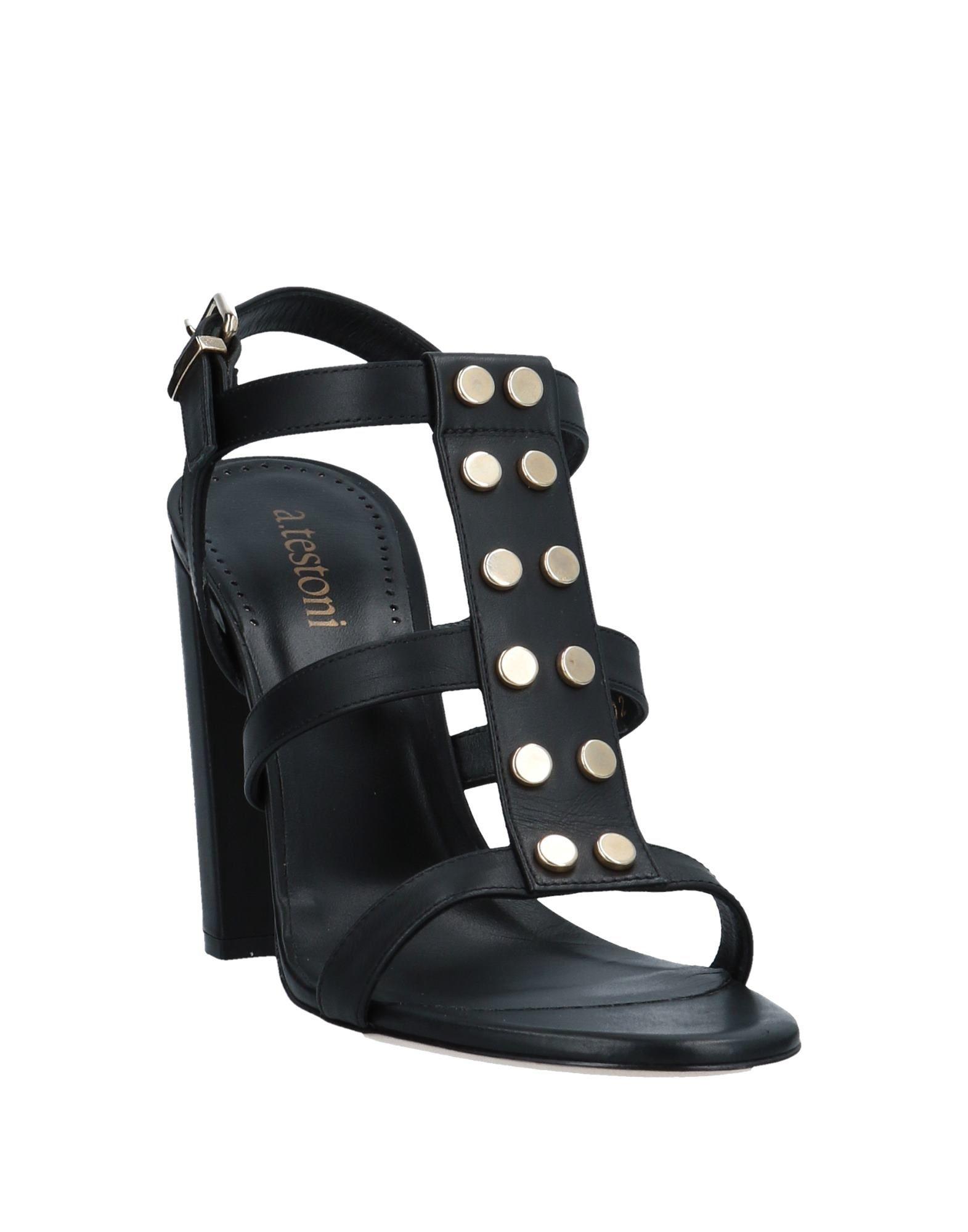 A.Testoni Sandalen Damen Schuhe  11548689ADGut aussehende strapazierfähige Schuhe Damen bbd844