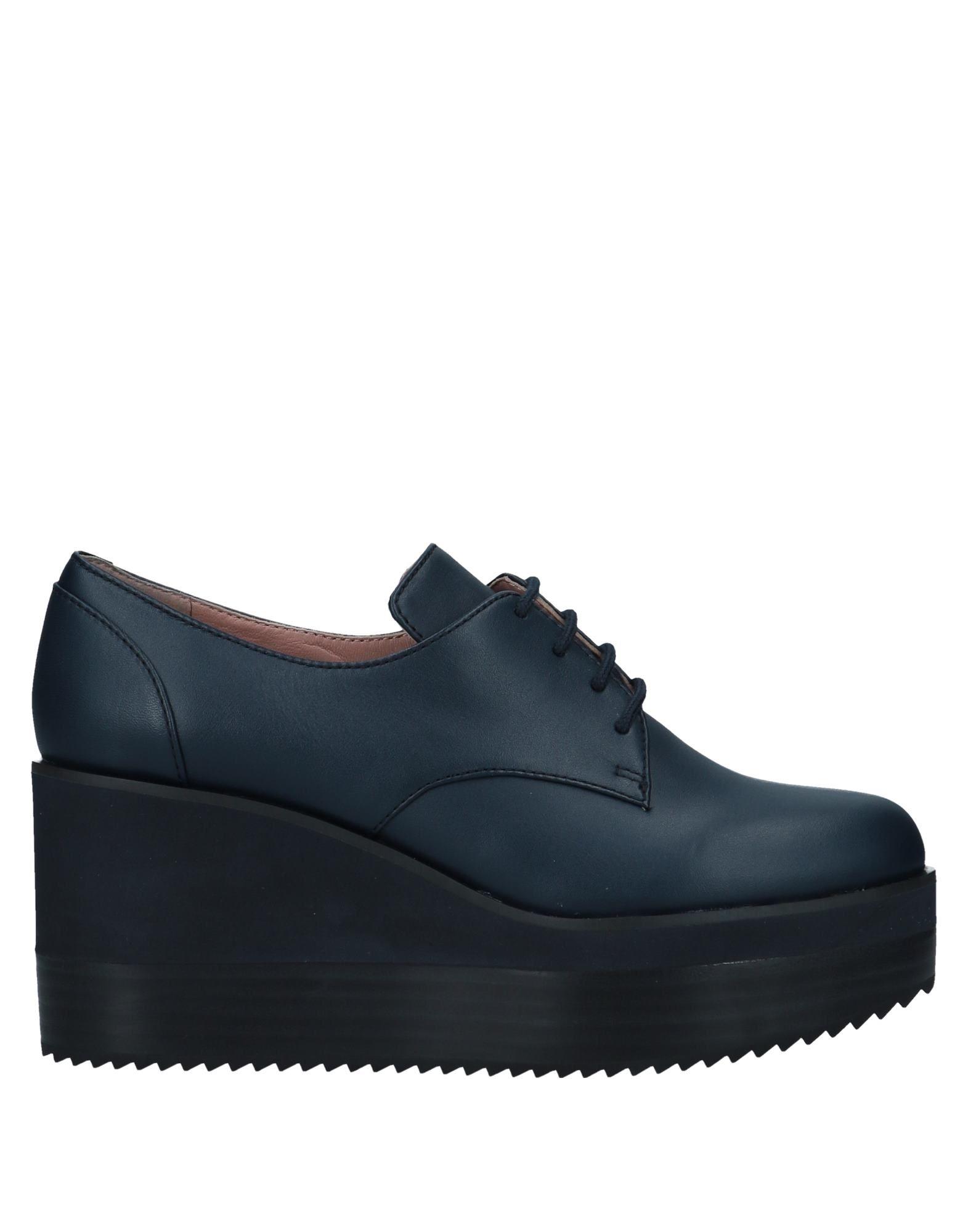 Zapato De Cordones Jil Sander Sander Jil Navy Mujer - Zapatos De Cordones Jil Sander Navy 0e9256