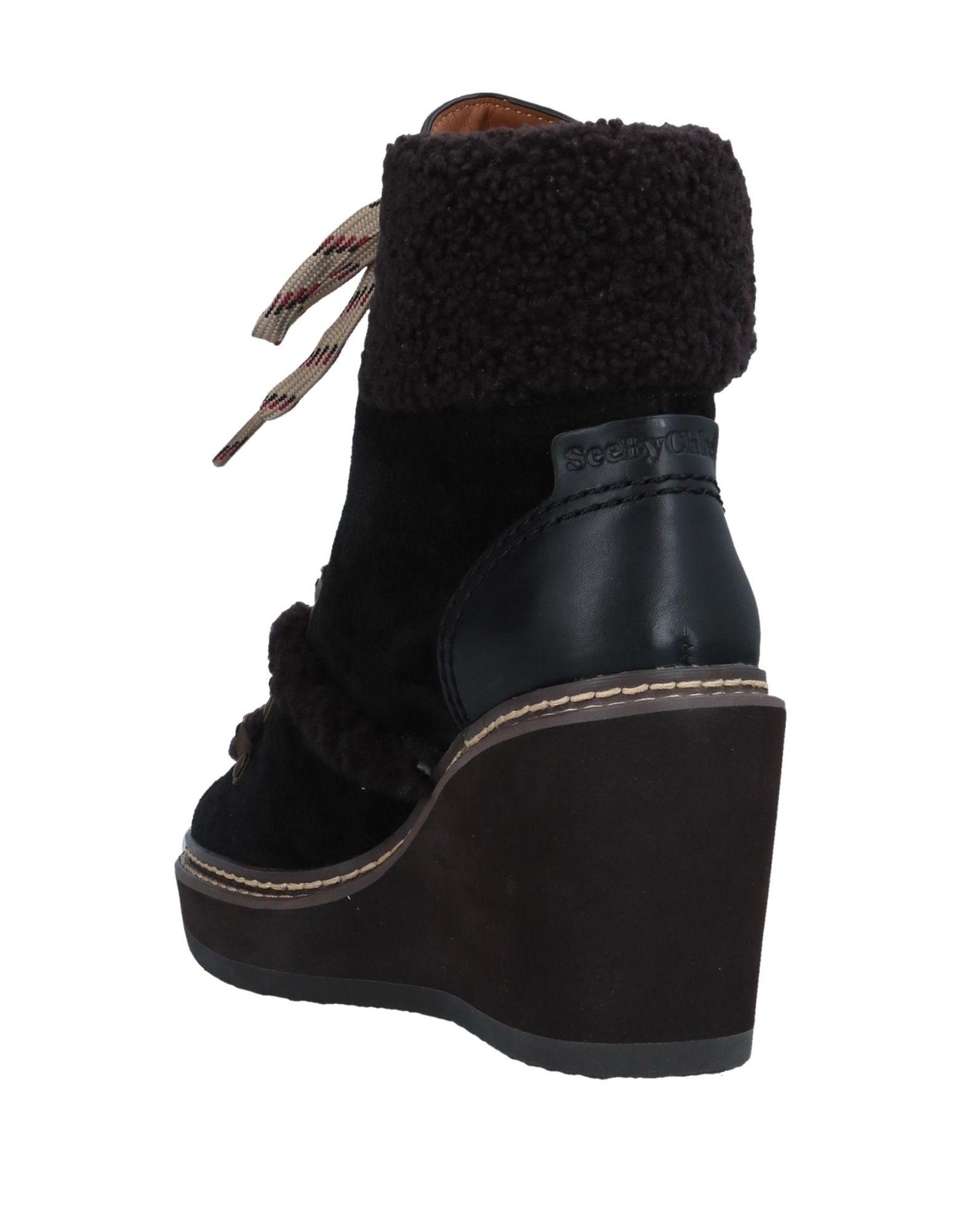 Rabatt Schuhe See By  Chloé Stiefelette Damen  By 11548895MC e8a3bb