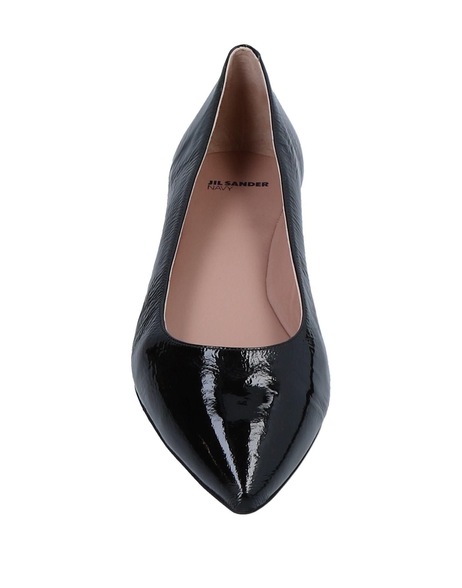 Stilvolle billige Schuhe Jil Sander Navy Ballerinas Damen  11549057CC